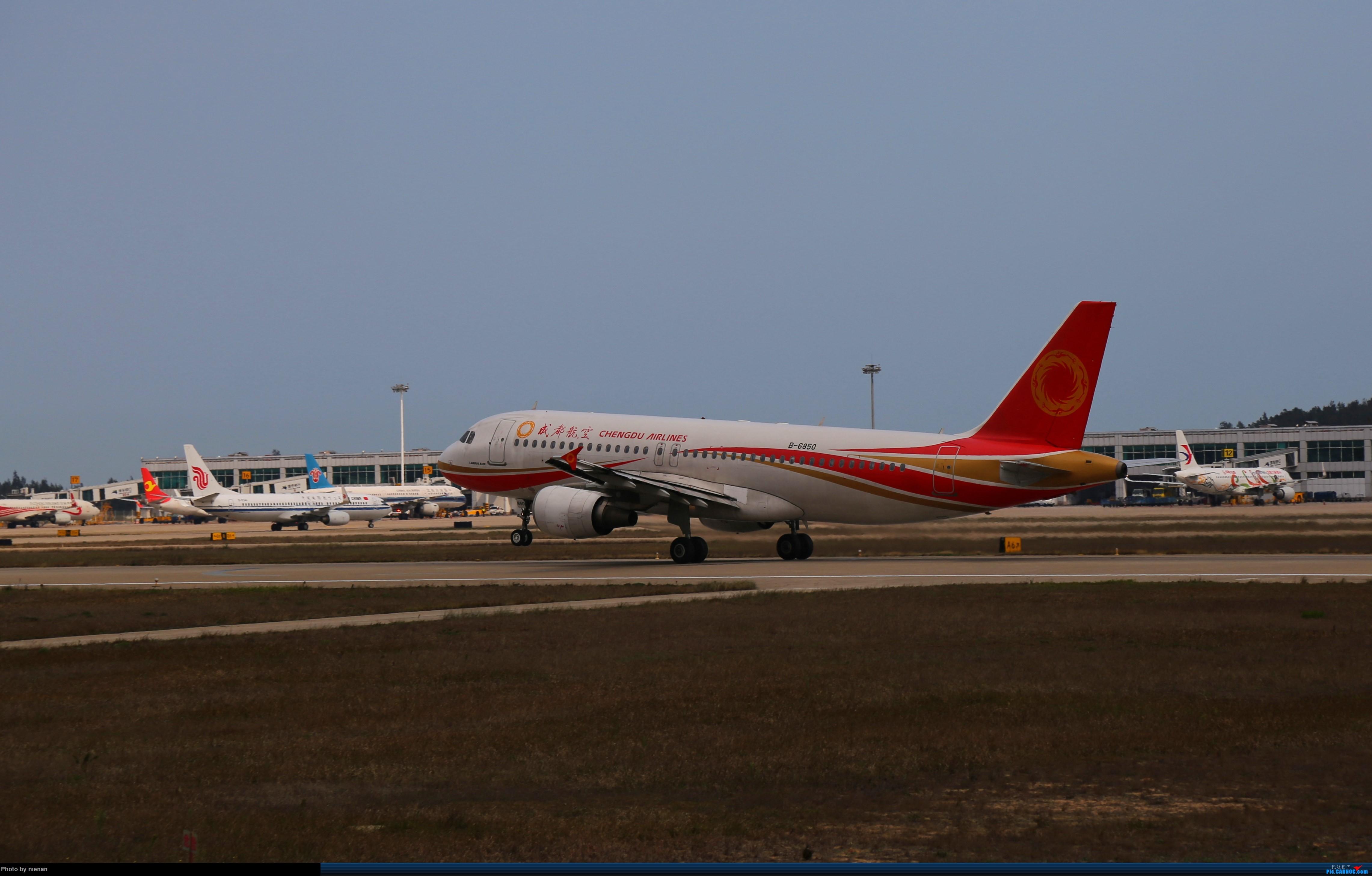 Re:[原创]好久不见 发点冷饭贴 AIRBUS A320-200 B-6850 中国福州长乐国际机场