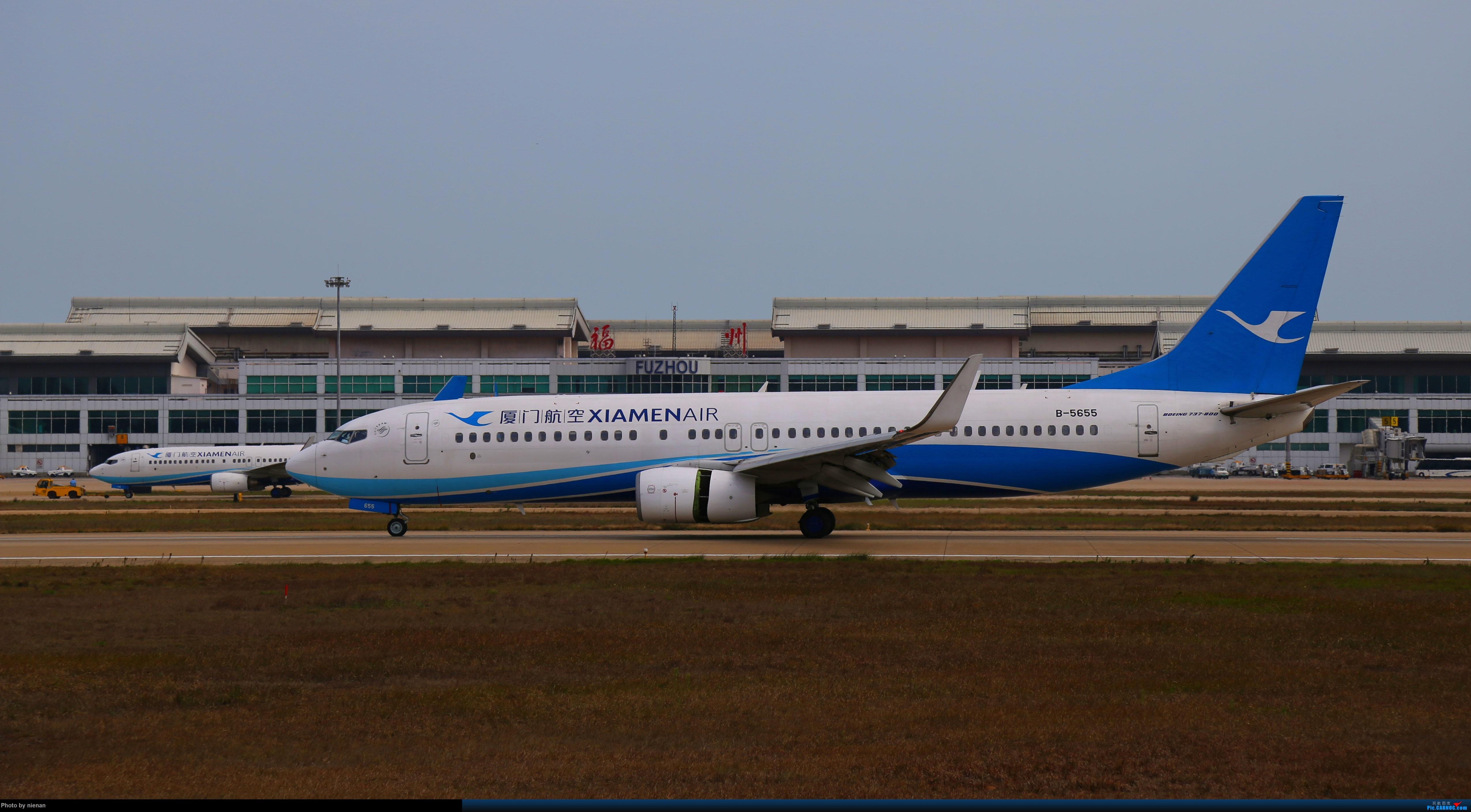 Re:好久不见 发点冷饭贴 BOEING 737-800 B-5655 中国福州长乐国际机场