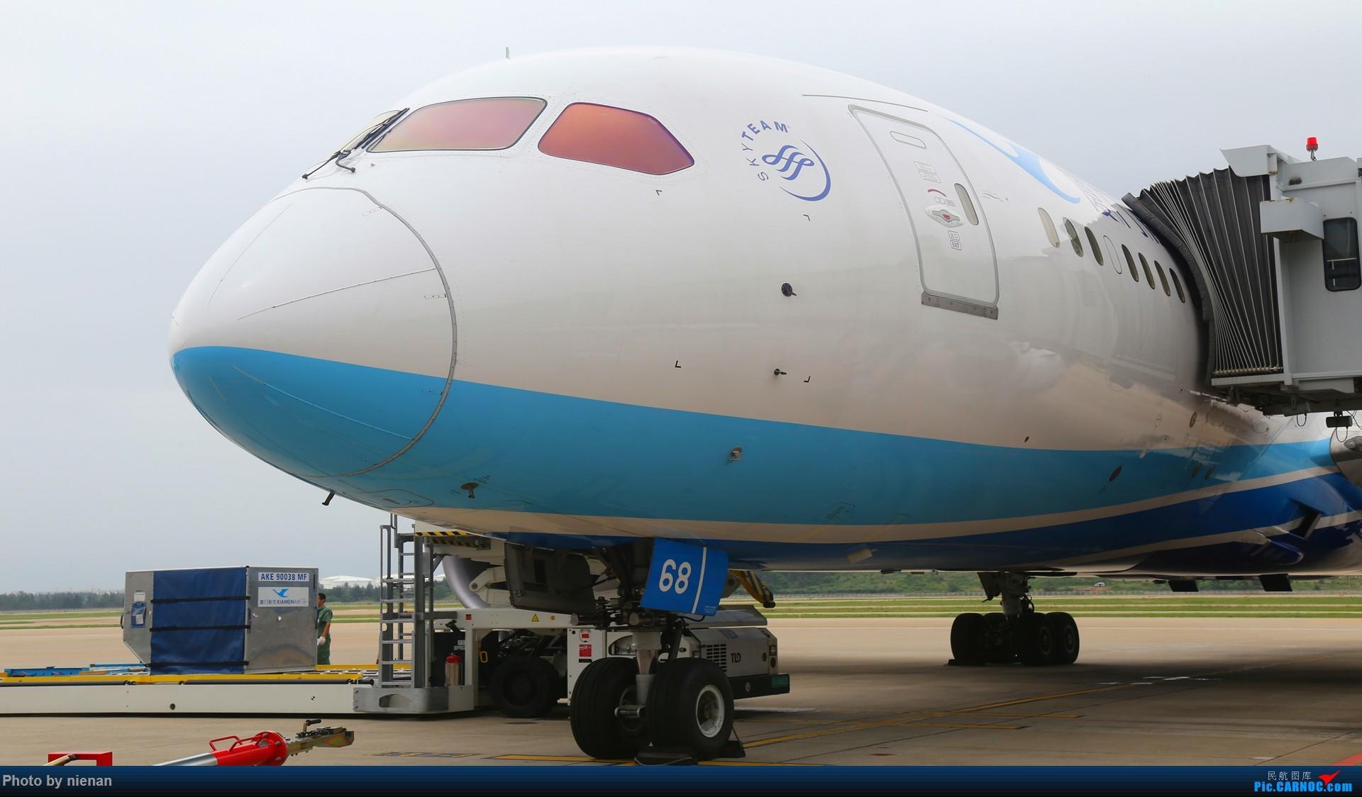 那年的FOC内场 1 BOEING 787-8 B-2768 中国福州长乐国际机场