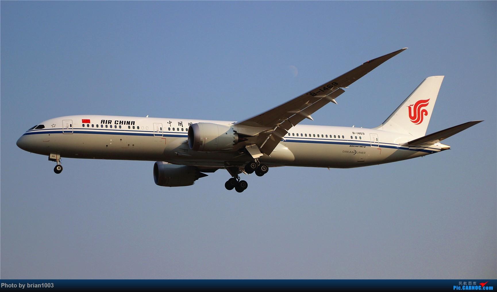 Re:[原创]PEK八卦台拍机 BOEING 787-9 B-1469 首都机场