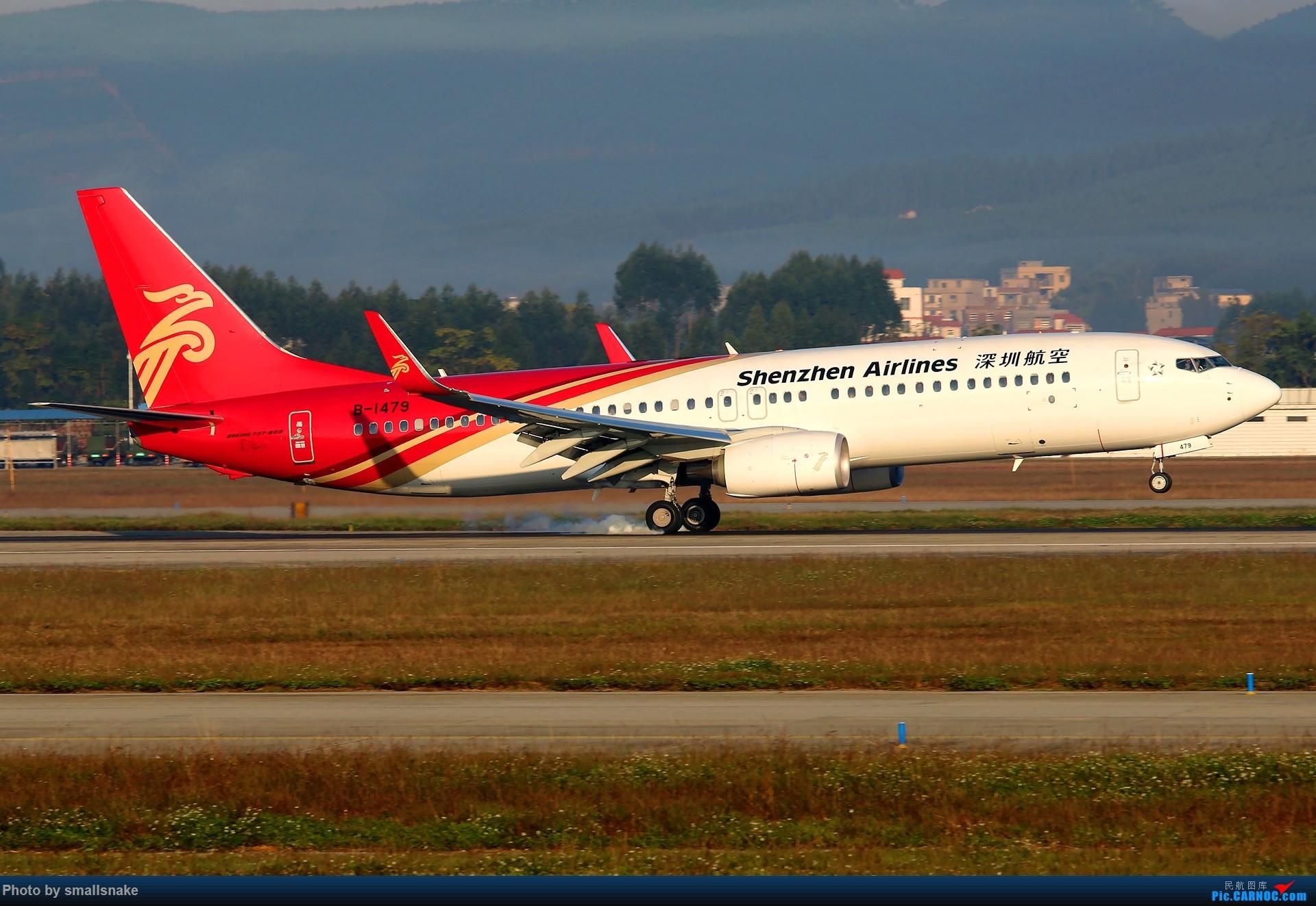 [原创]NNG的一个早晨... BOEING 737-800 B-1479 南宁吴圩国际机场