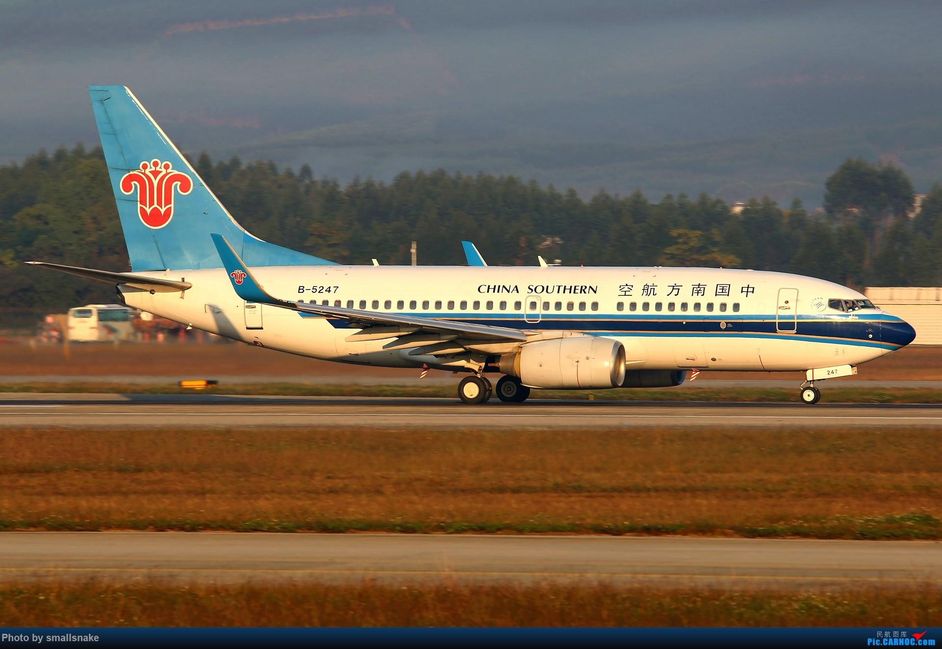 Re:[原创]NNG的一个早晨... BOEING 737-700 B-5247 南宁吴圩国际机场