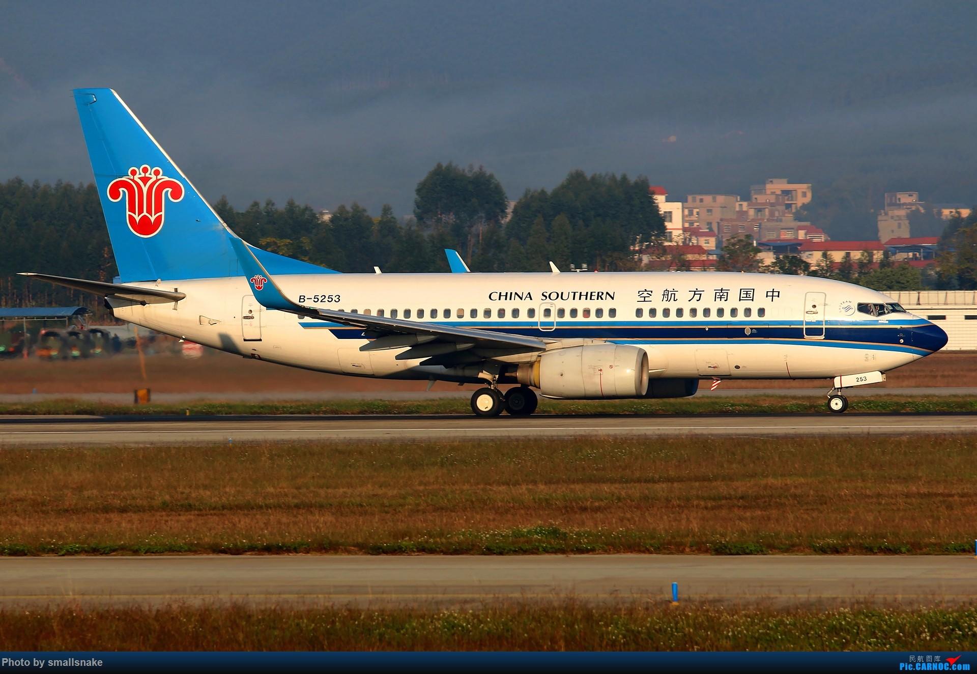 Re:[原创]NNG的一个早晨... BOEING 737-700 B-5253 南宁吴圩国际机场