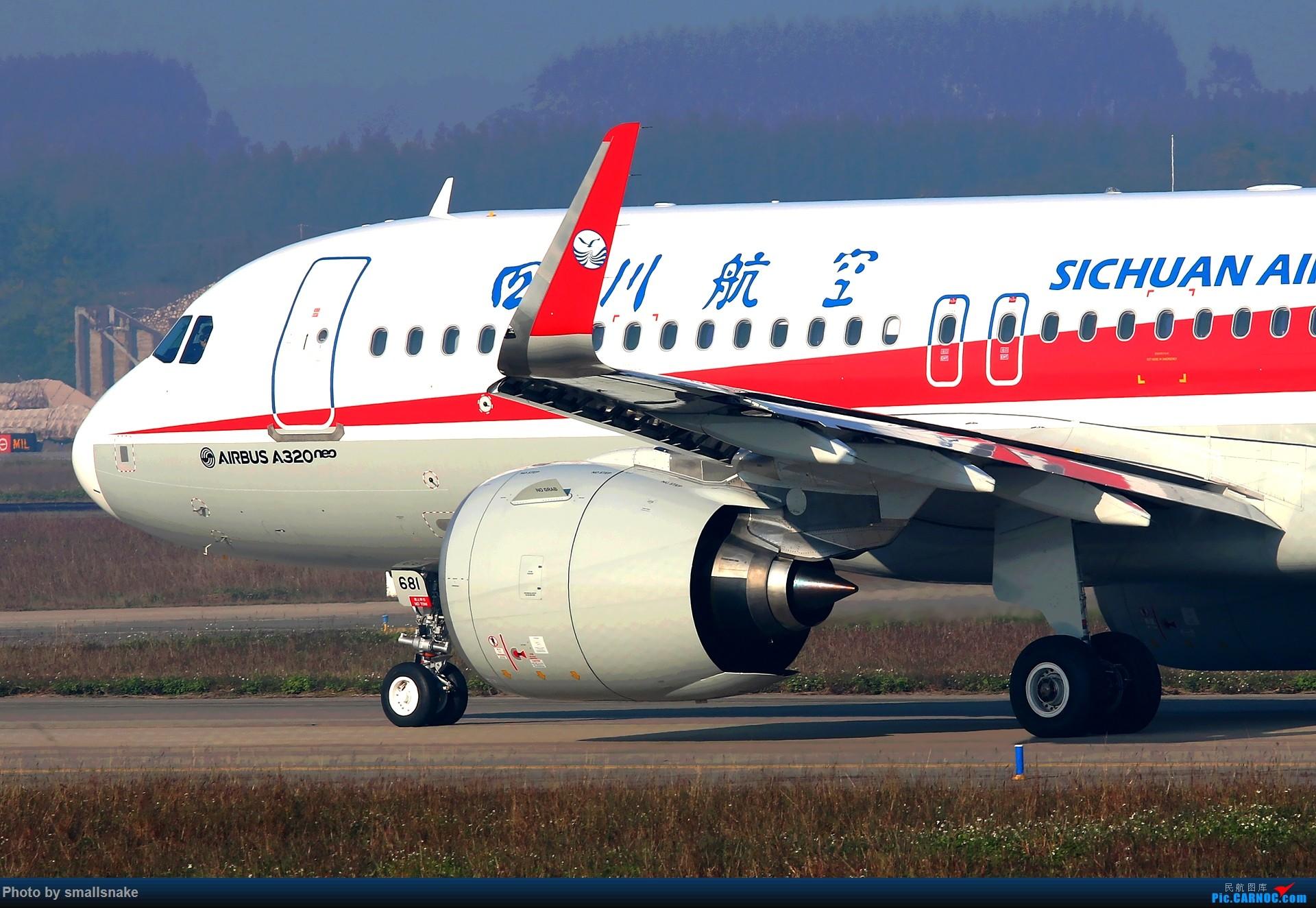 Re:[原创]NNG的一个早晨... AIRBUS A320NEO B-8681 南宁吴圩国际机场