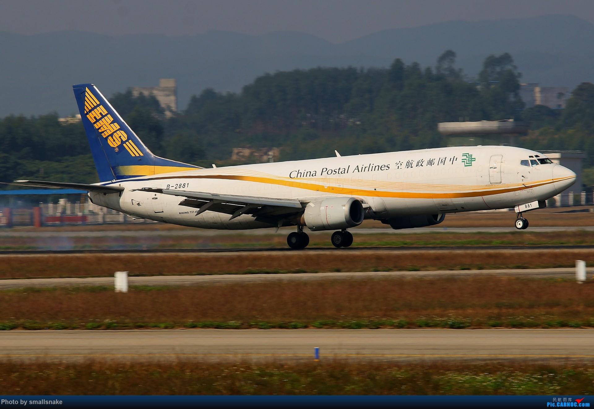 Re:[原创]NNG的一个早晨... BOEING 737-400 B-2881 南宁吴圩国际机场
