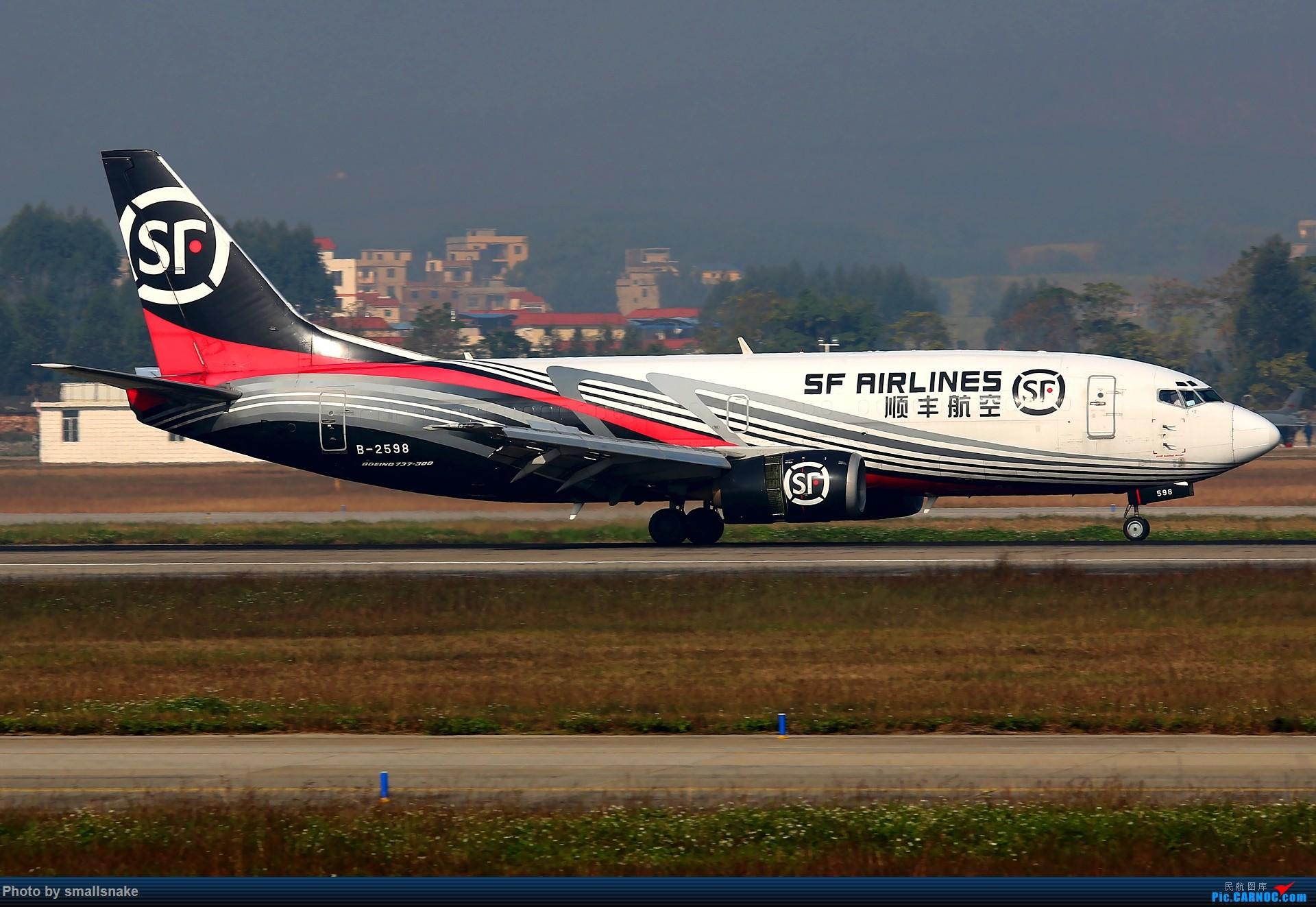 Re:[原创]NNG的一个早晨... BOEING 737-300 B-2598 南宁吴圩国际机场