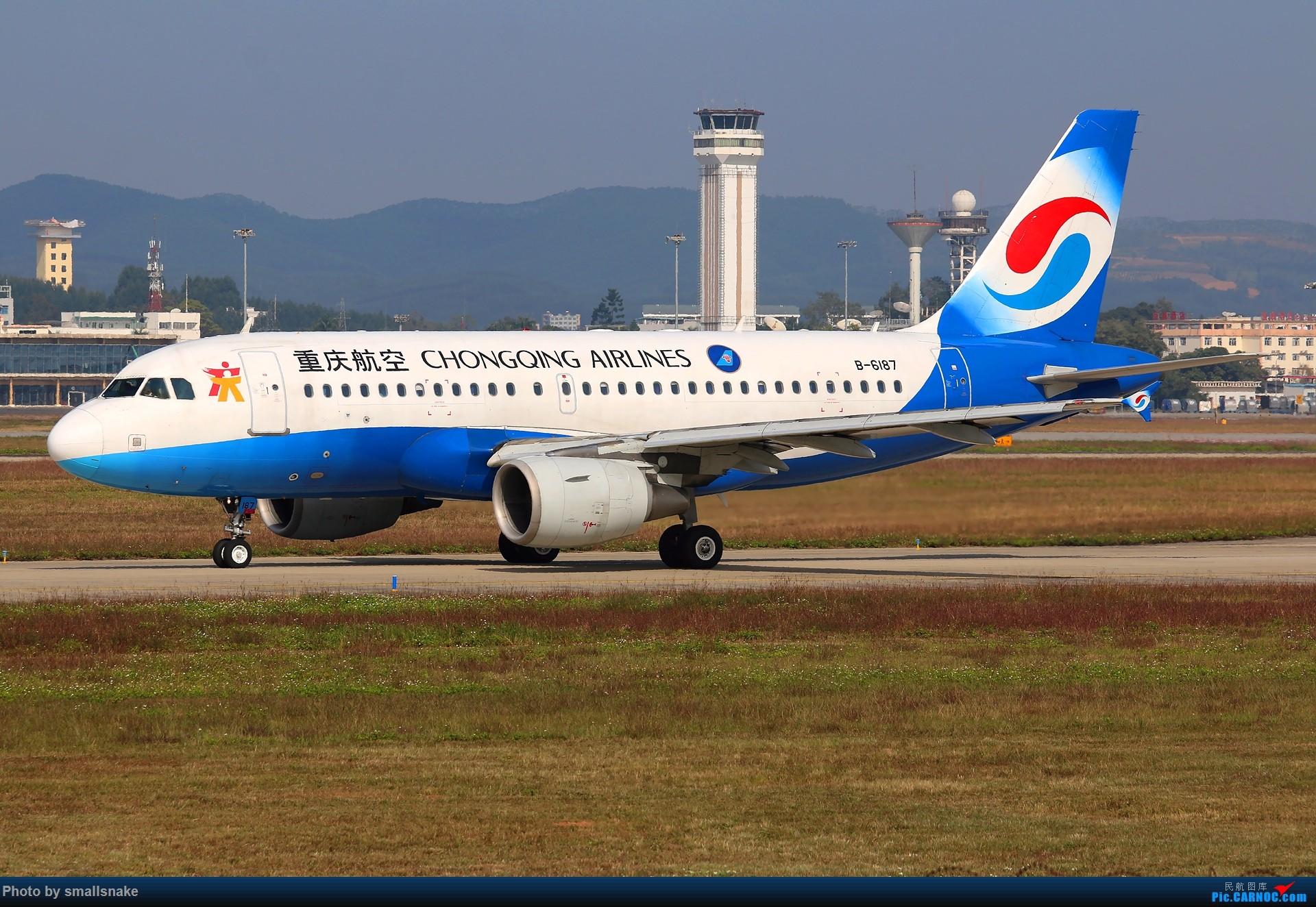 Re:NNG的一个早晨... AIRBUS A319-100 B-6187 南宁吴圩国际机场