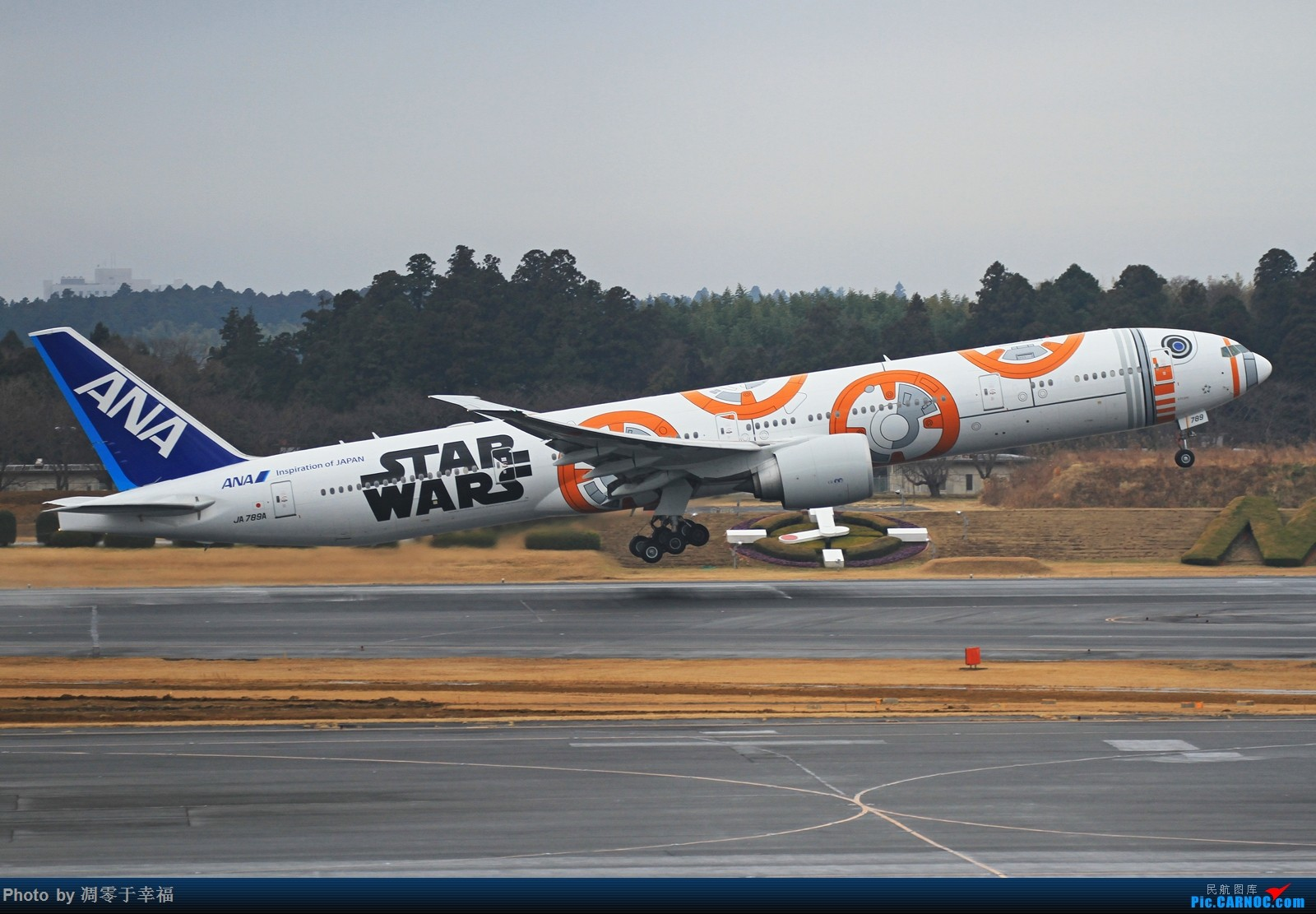 Re:[原创]边走边拍~~ BOEING 777-300ER JA789A 日本东京成田机场