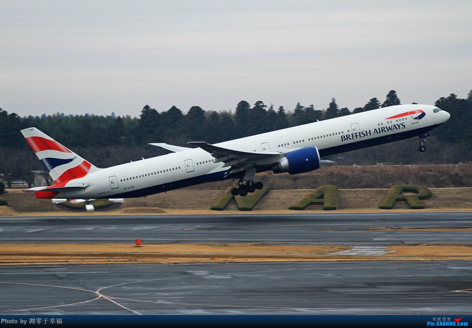 Re:[原创]边走边拍~~ BOEING 777-300ER G-STBD 日本东京成田机场
