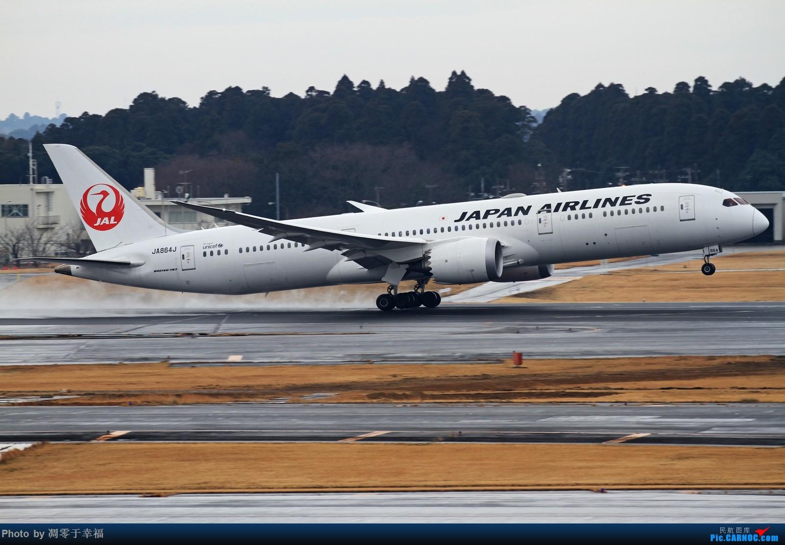 Re:[原创]边走边拍~~ BOEING 787-8 JA864J 日本东京成田机场