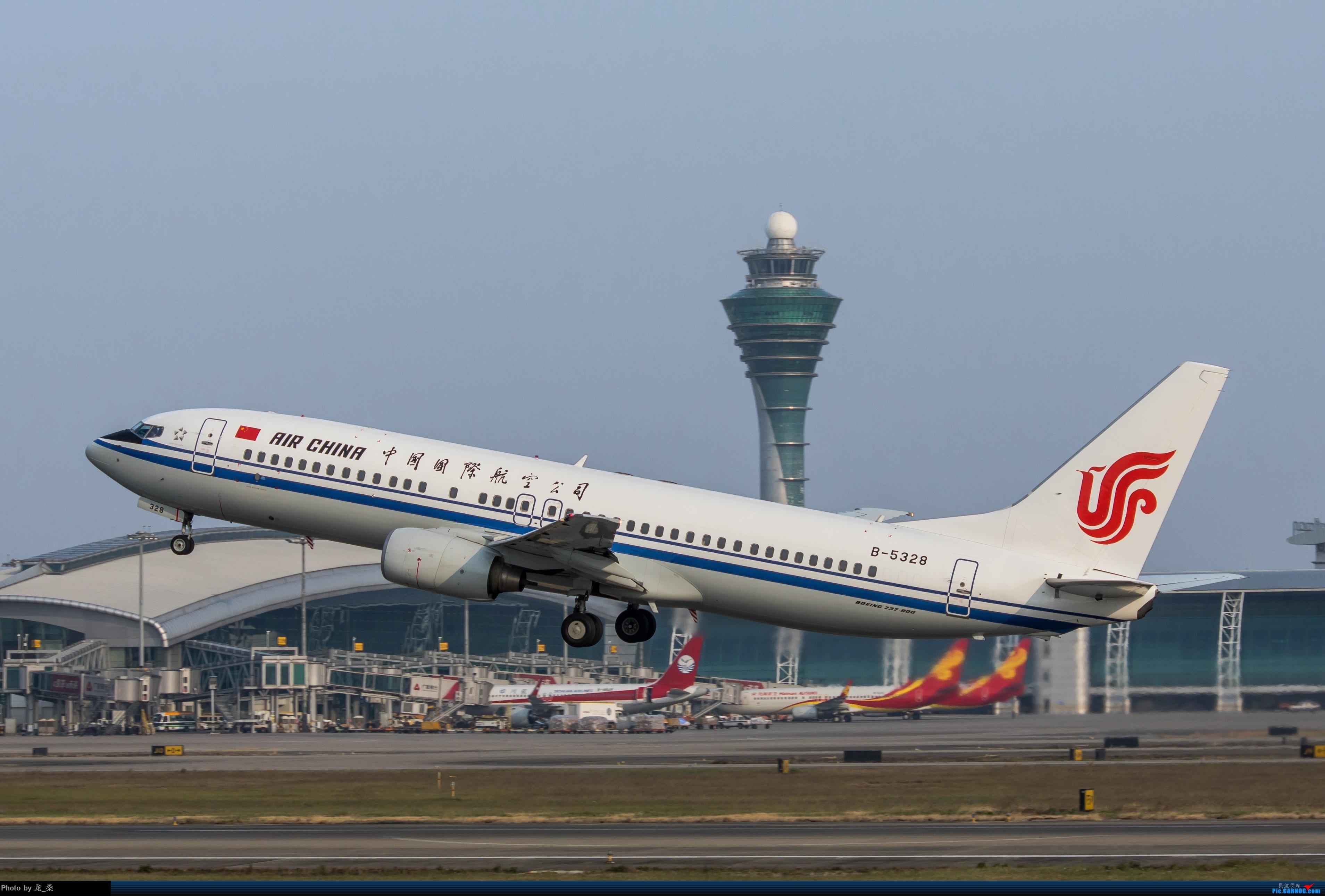[原创]2017年最后一次CAN拍机 BOEING 737-800 B-5328 中国广州白云国际机场