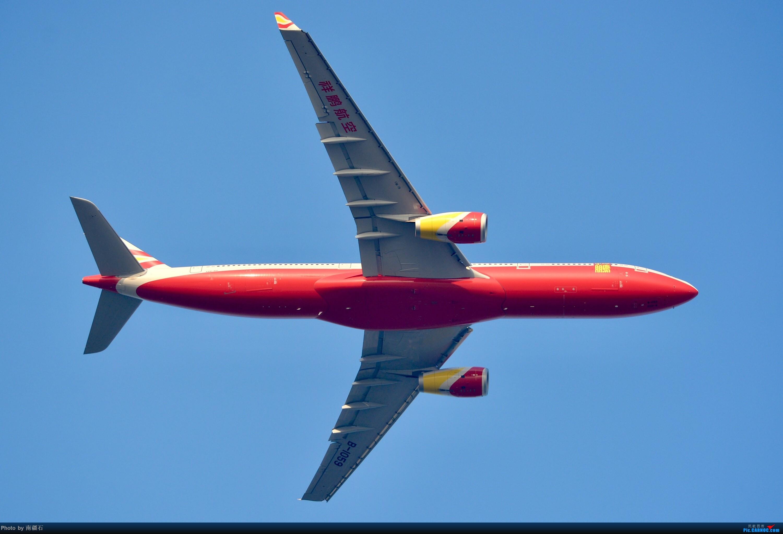[原创]仰拍祥鹏航空a333红肚皮 AIRBUS A330-300 B-1059 中国成都双流国际机场