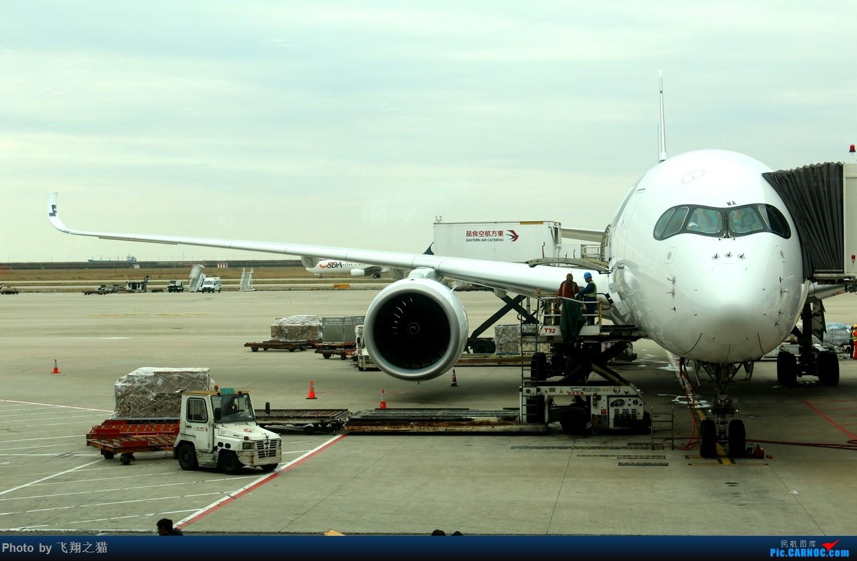 Re:[原创]飞翔之猫魔都见闻 AIRBUS A350-900  浦东国际机场