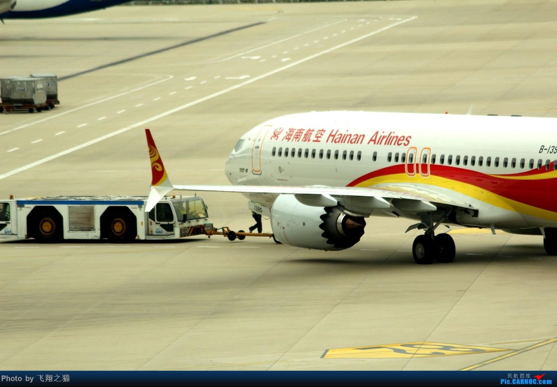 Re:[原创]飞翔之猫魔都见闻 BOEING 737MAX-8  浦东国际机场