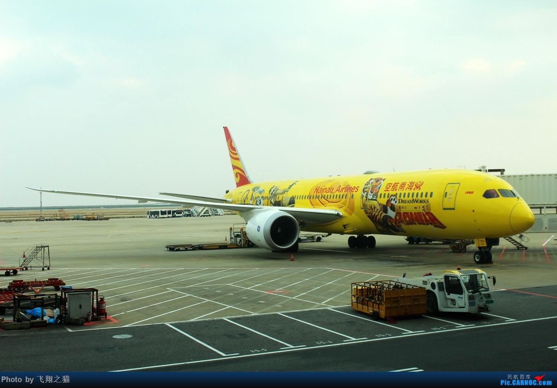 Re:[原创]飞翔之猫魔都见闻 BOEING 787-9 B-7302 浦东国际机场