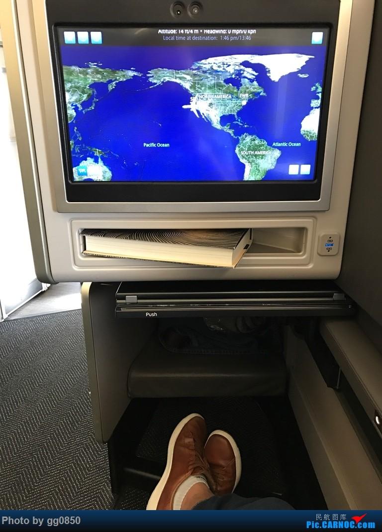 Re:[原创]美联航773新商务舱 旧金山-纽瓦克
