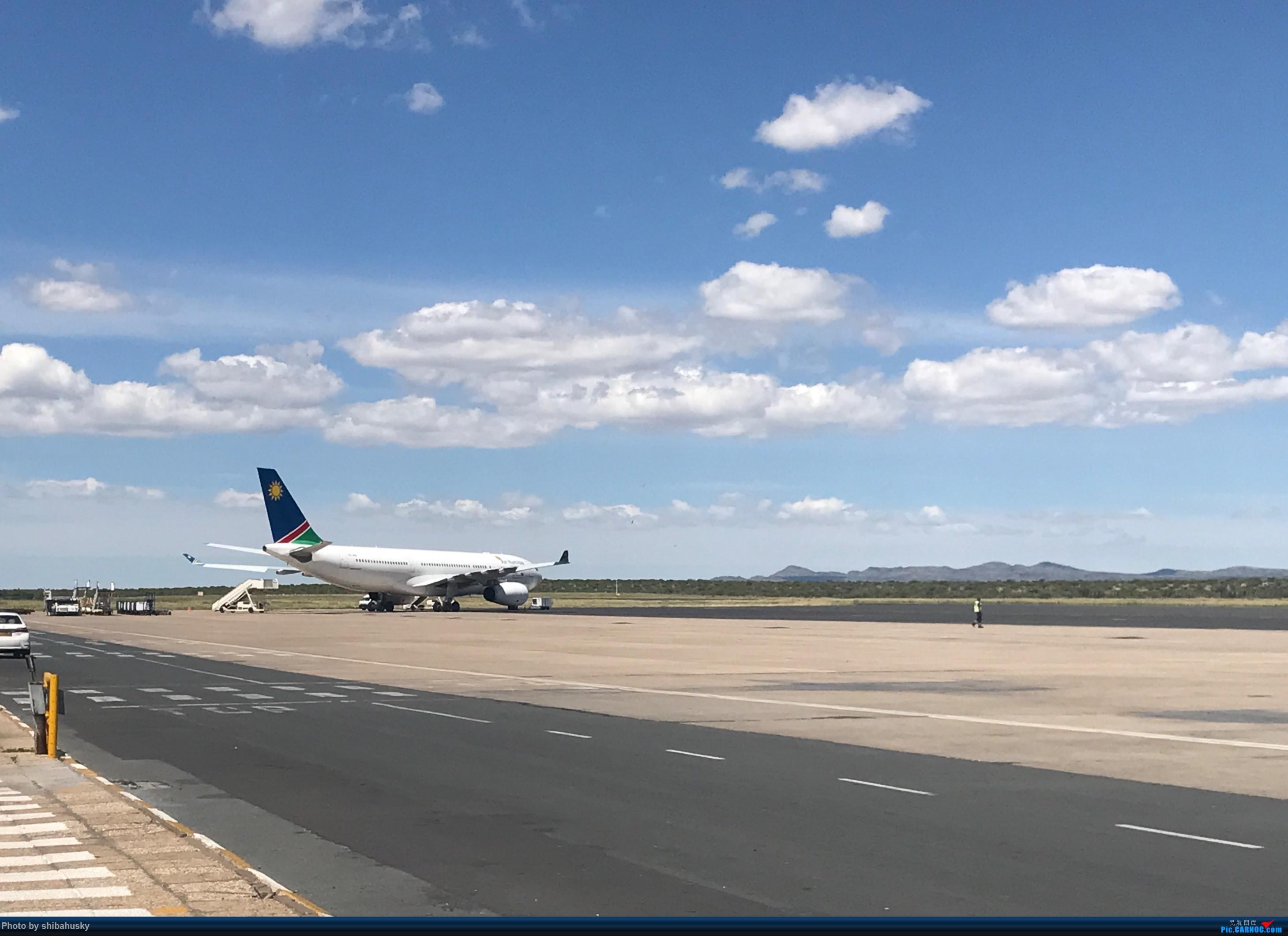 Re:新人第一帖 WVB-WDH-DOH-CDG-SOU 圣诞纳米比亚游记 体验稀有机型加辗转回英 AIRBUS A330-200 未知 温得和克机场
