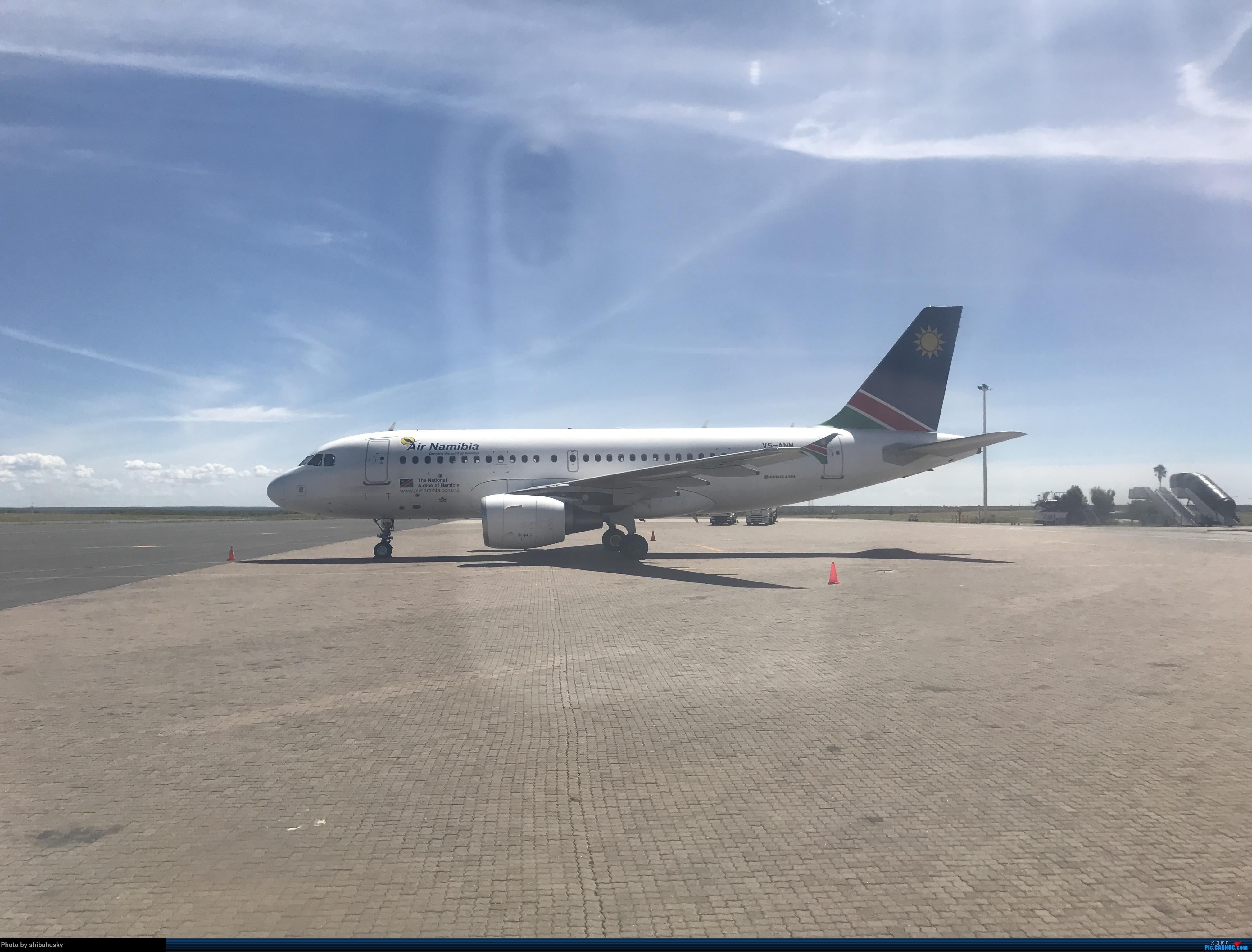 Re:新人第一帖 WVB-WDH-DOH-CDG-SOU 圣诞纳米比亚游记 体验稀有机型加辗转回英 AIRBUS A319 V5-ANM 温得和克机场
