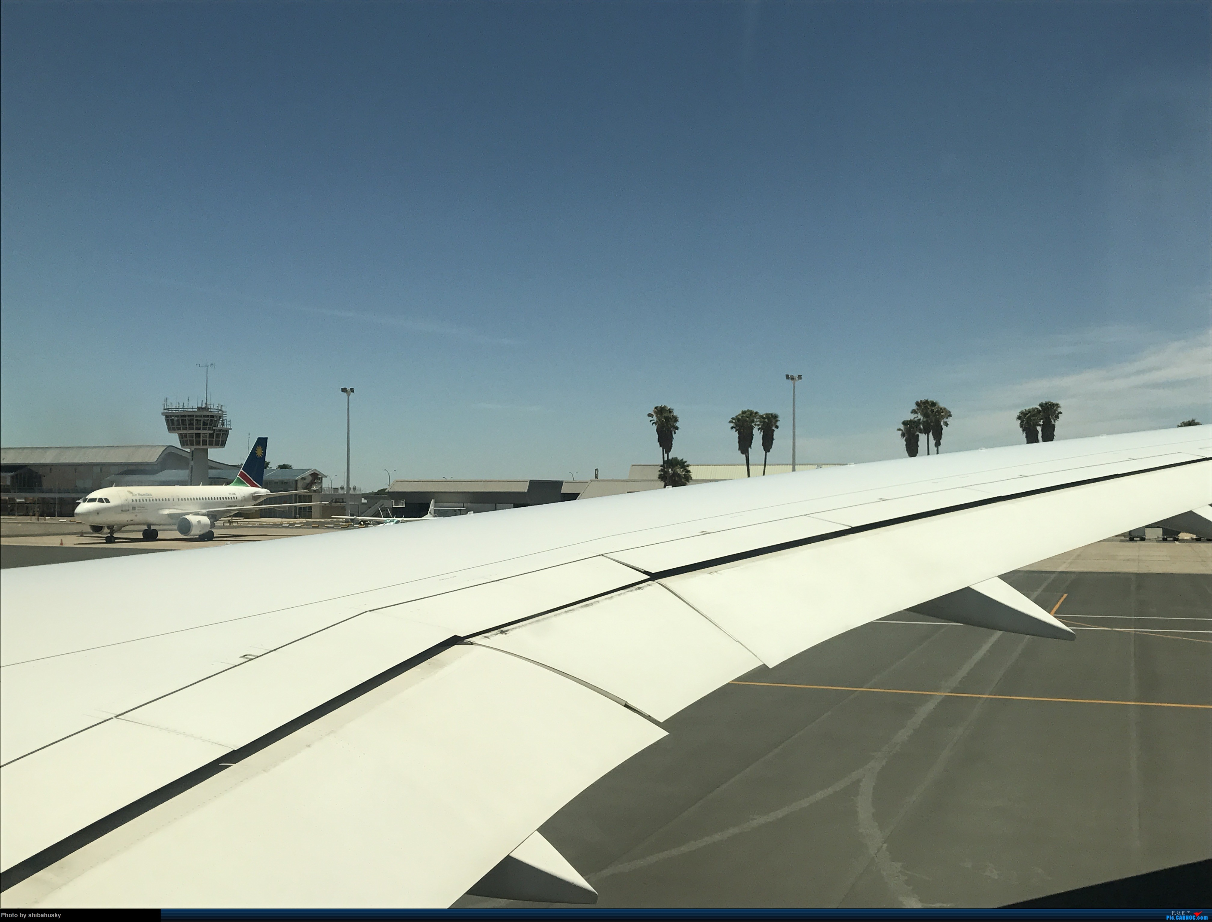 Re:新人第一帖 WVB-WDH-DOH-CDG-SOU 圣诞纳米比亚游记 体验稀有机型加辗转回英 BOEING 787-8 A7-BDD 温得和克国际机场