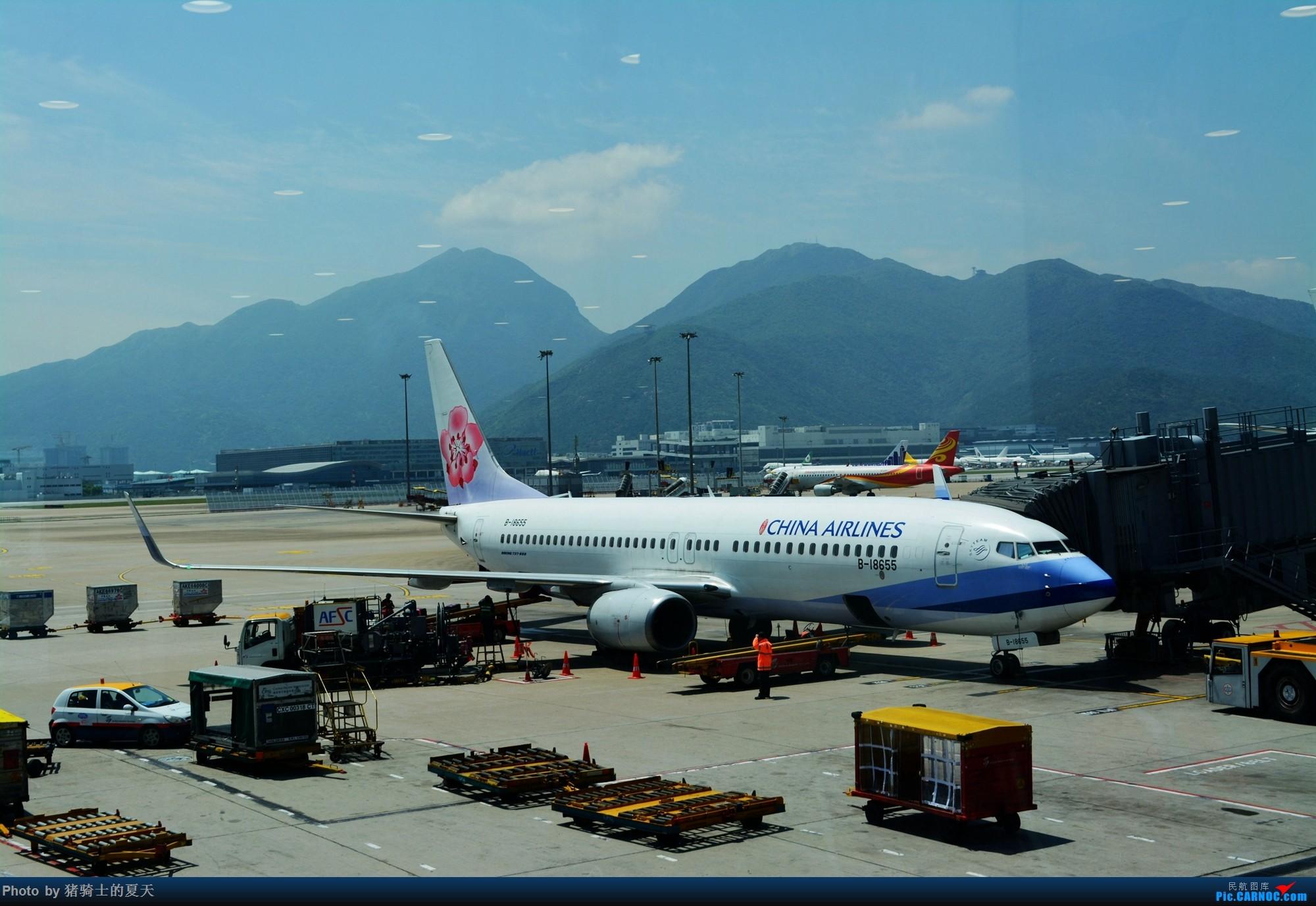 Re:2017年鸡鸭图 BOEING 737-800 B-18655 中国香港国际机场