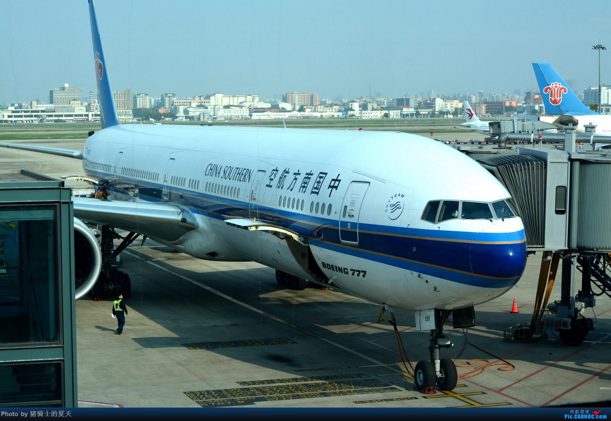 Re:2017年鸡鸭图 BOEING 777-300ER B-2099 中国上海虹桥国际机场