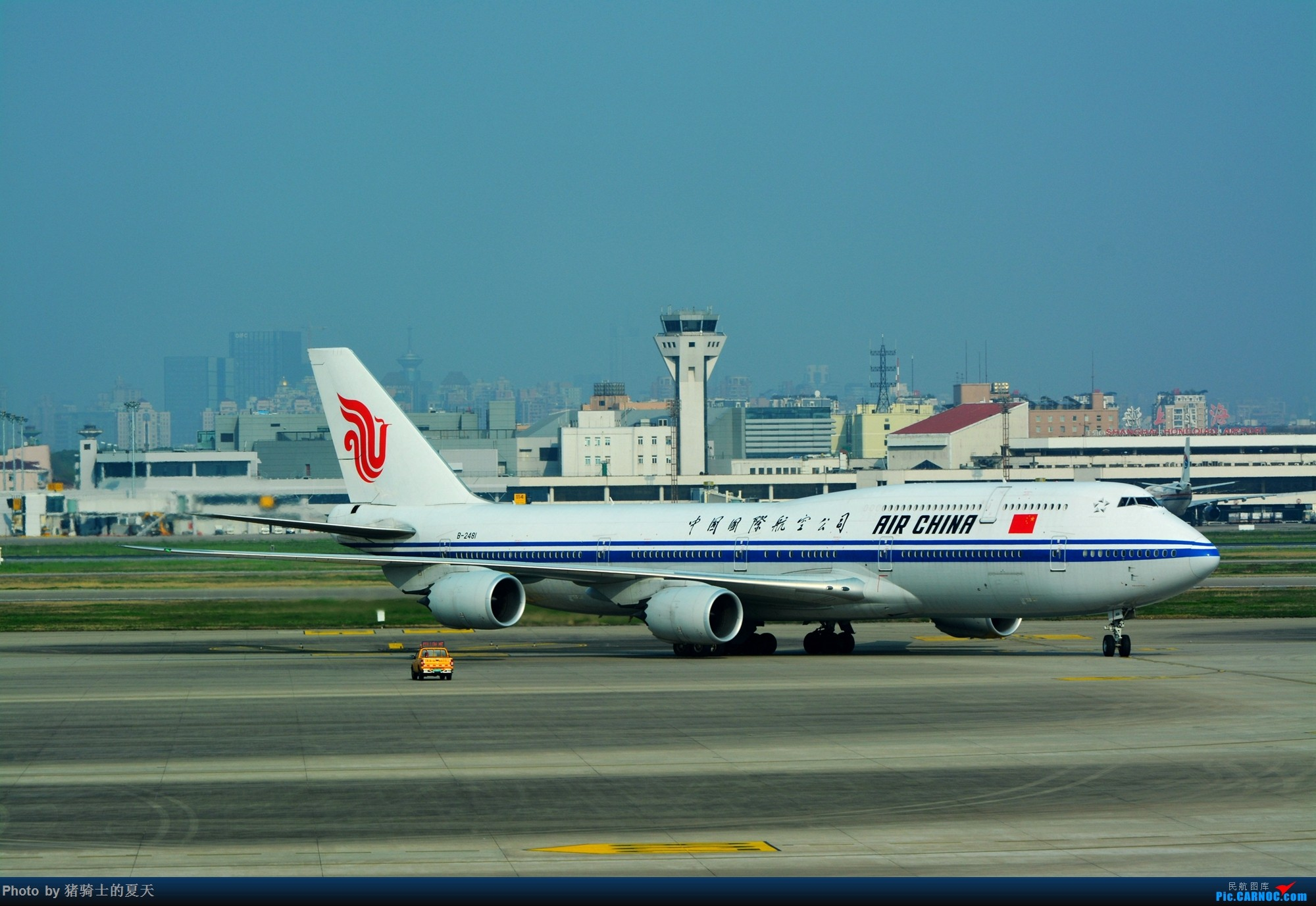 Re:2017年鸡鸭图 BOEING 747-8I B-2481 中国上海虹桥国际机场