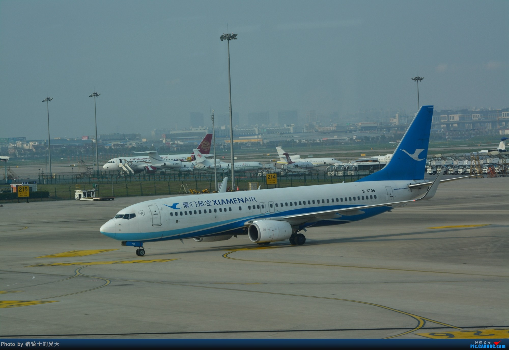 Re:[原创]2017年鸡鸭图 BOEING 737-800 B-5708 中国上海虹桥国际机场
