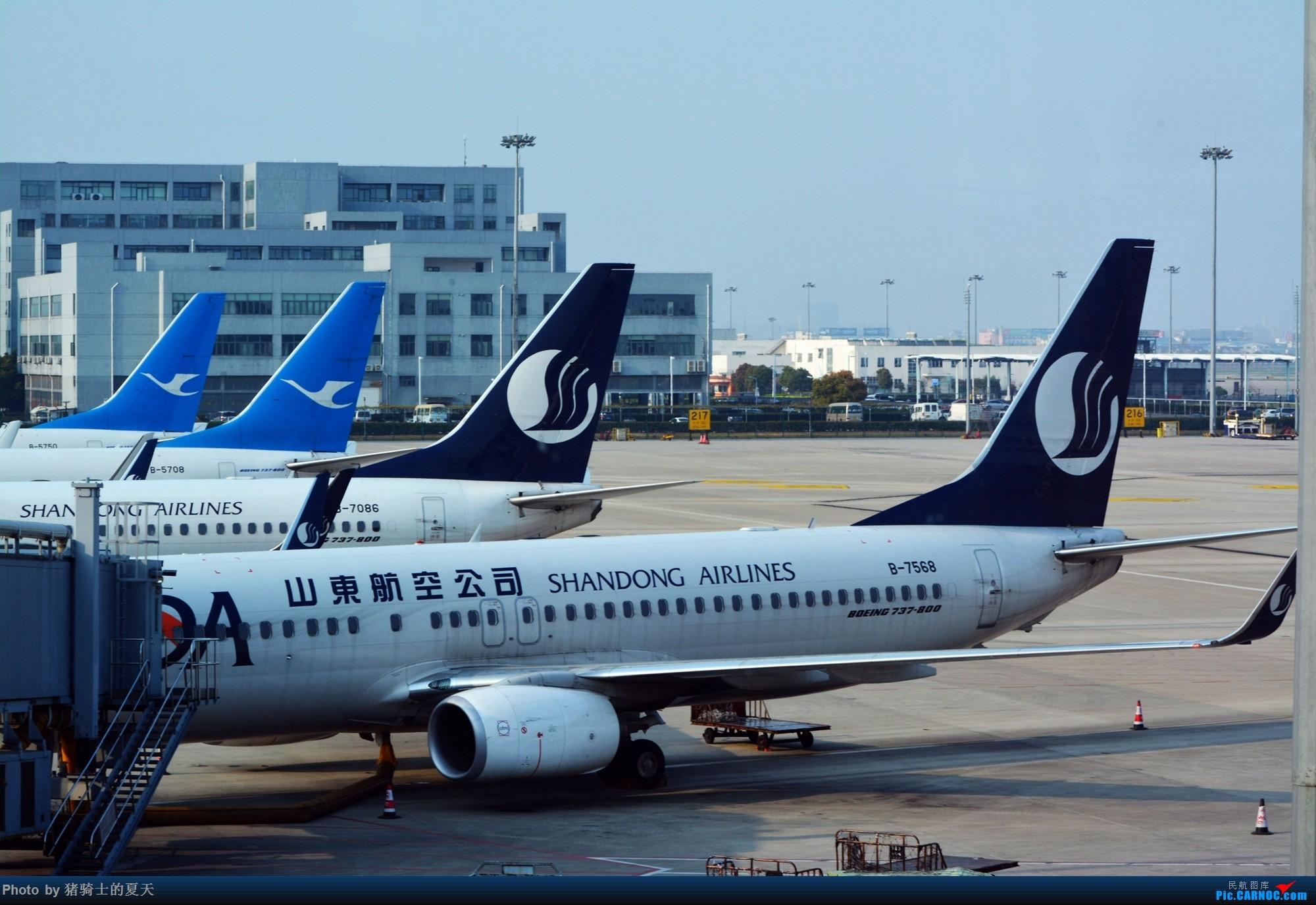 Re:2017年鸡鸭图 BOEING 737-800 B-7568 中国上海虹桥国际机场