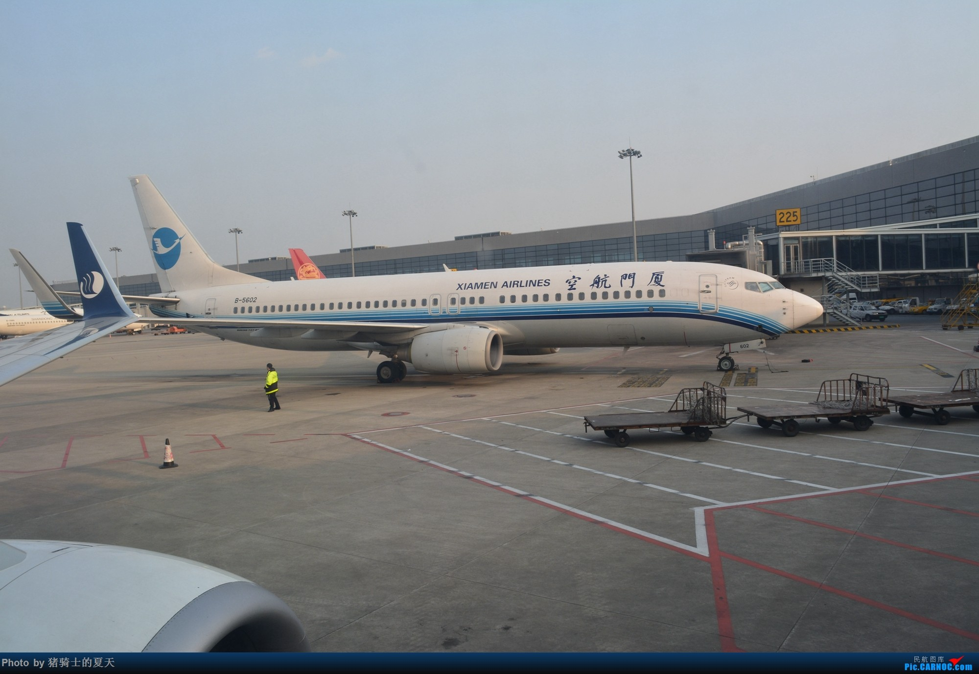 Re:2017年鸡鸭图 BOEING 737-800 B-5602 中国上海虹桥国际机场