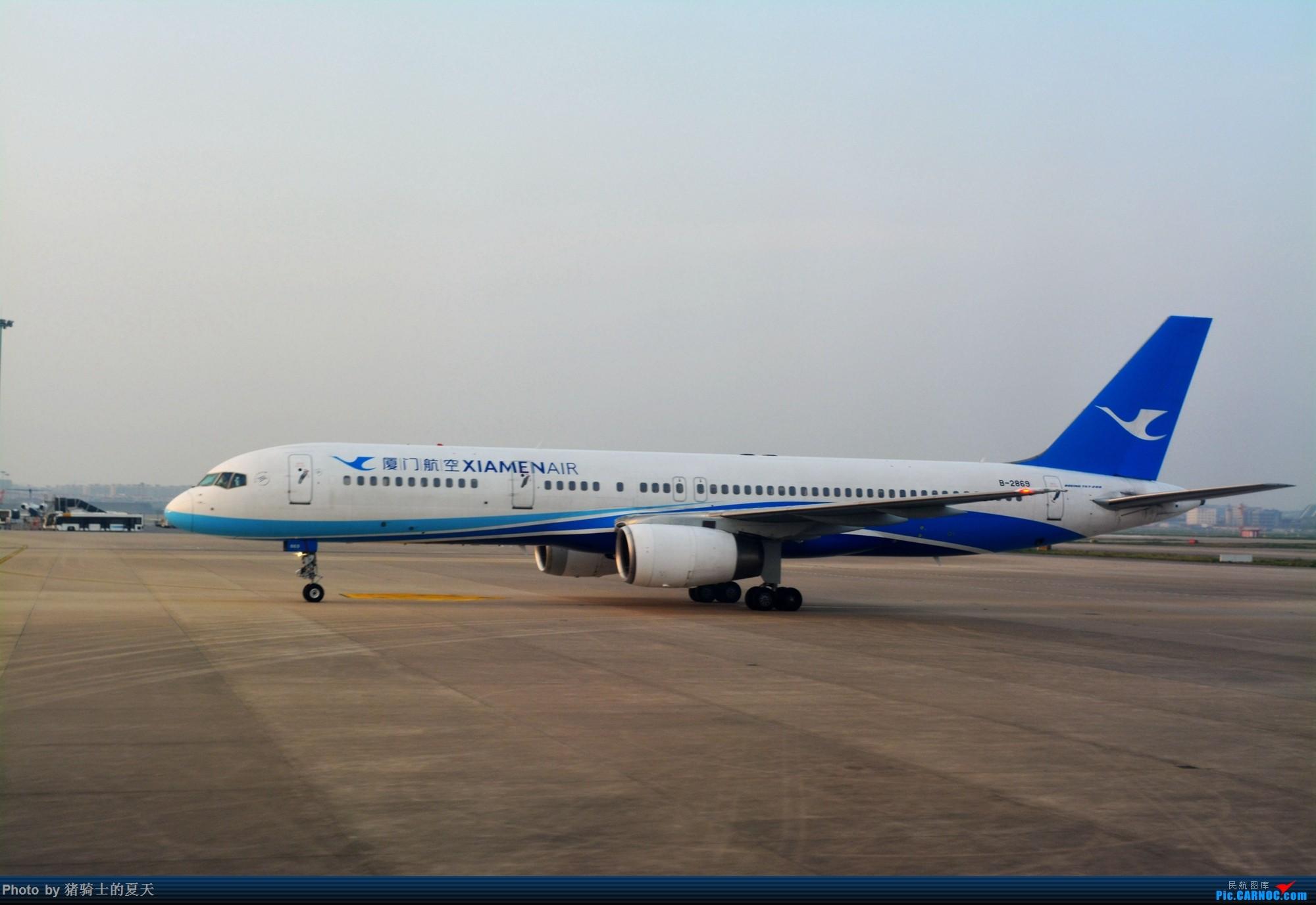 Re:[原创]2017年鸡鸭图 BOEING 757-200 B-2869 中国上海虹桥国际机场