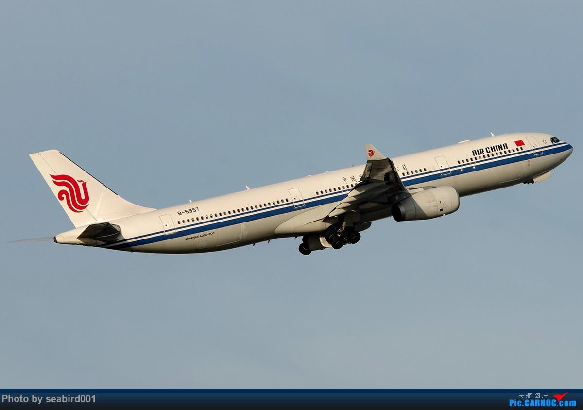 Re:[原创]中国国际航空公司320、738、772 AIRBUS A330-300 B-5957 中国深圳宝安国际机场