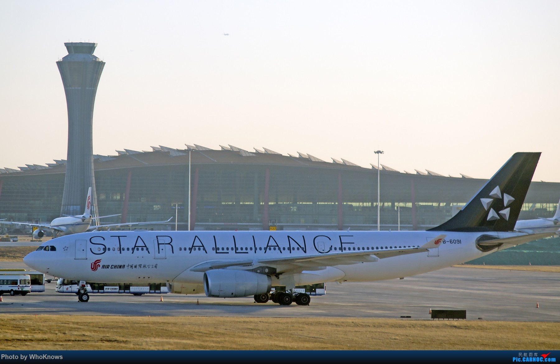Re:[原创]北京的蓝天 AIRBUS A330-200 B-6091 中国北京首都国际机场