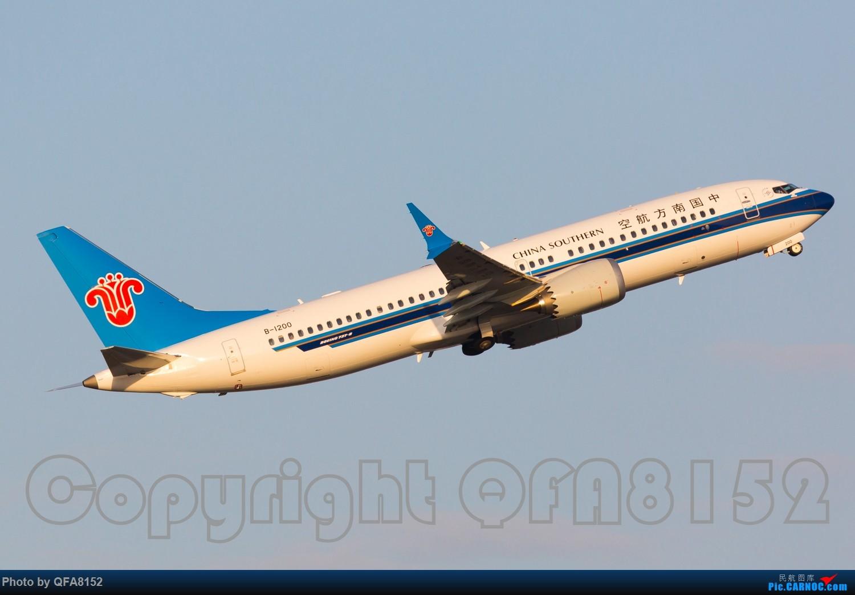 Re:[原创]好久没发过图了 BOEING 737MAX-8 B-1200 中国广州白云国际机场