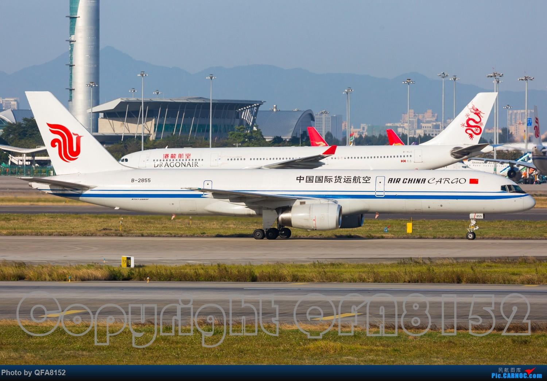 Re:[原创]好久没发过图了 BOEING 757-200 B-2855 中国广州白云国际机场