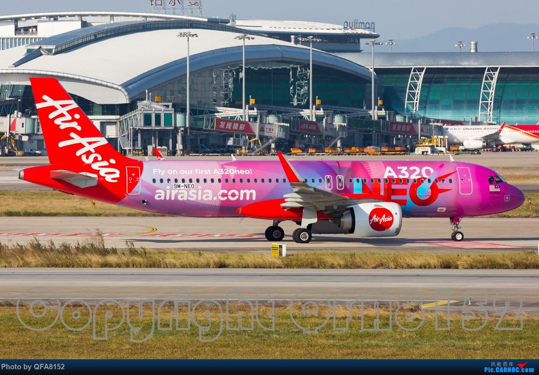 Re:[原创]好久没发过图了 AIRBUS A320NEO 9M-NEP 中国广州白云国际机场