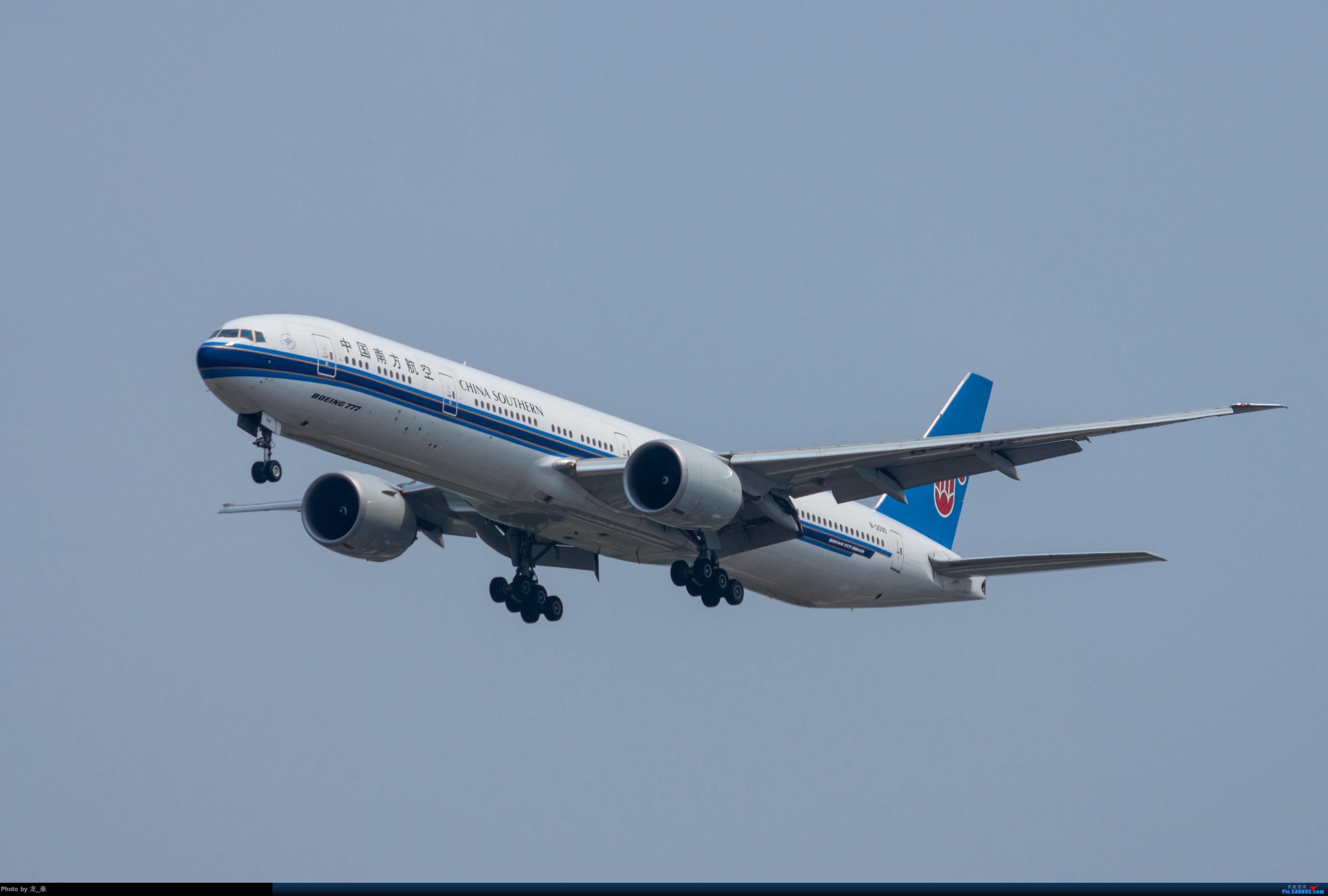 Re:[原创]发一组老图,去年拍的CAN东跑道进近 BOEING 777-300ER B-2099 中国广州白云国际机场