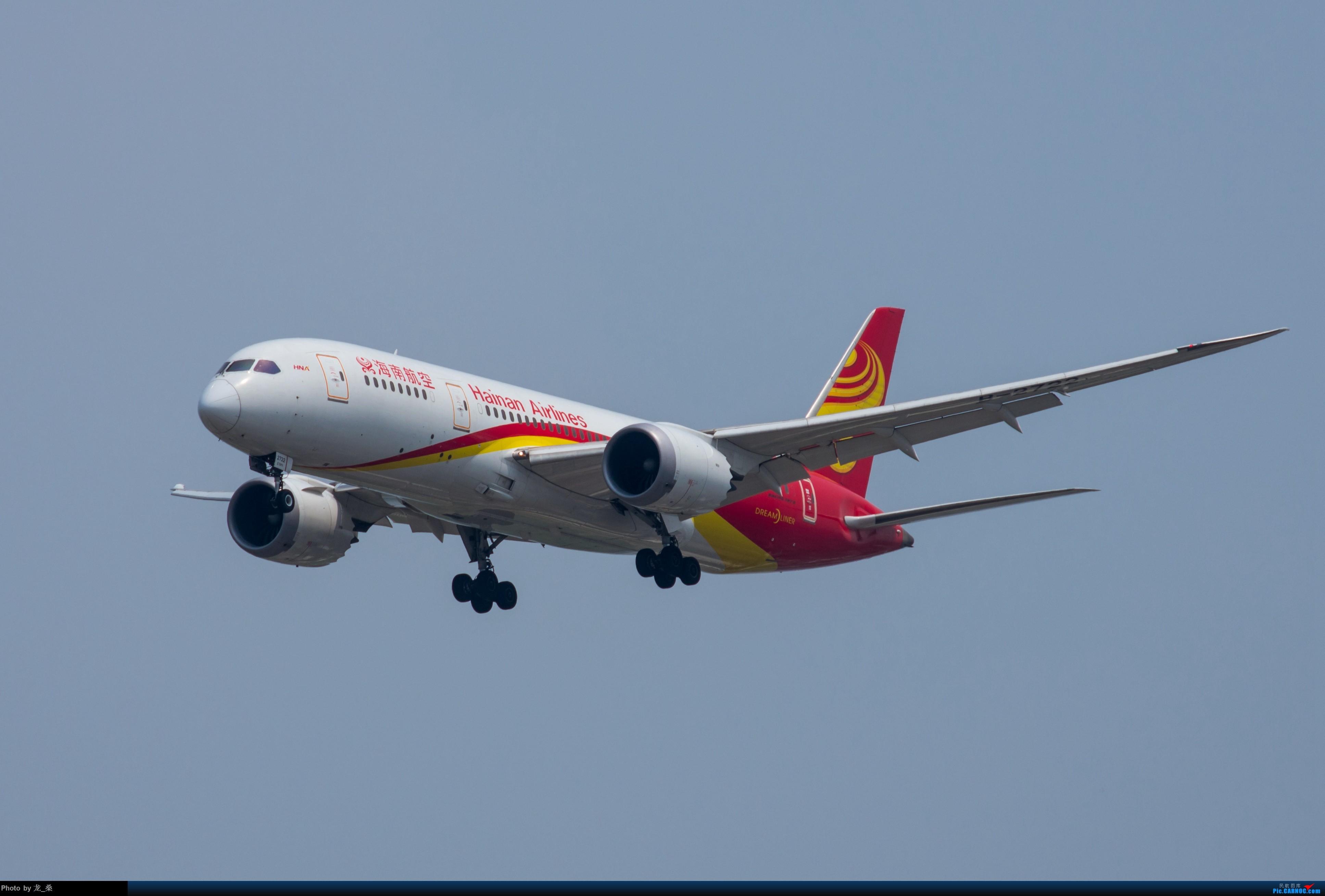 Re:[原创]发一组老图,去年拍的CAN东跑道进近 BOEING 787-8 B-2722 中国广州白云国际机场