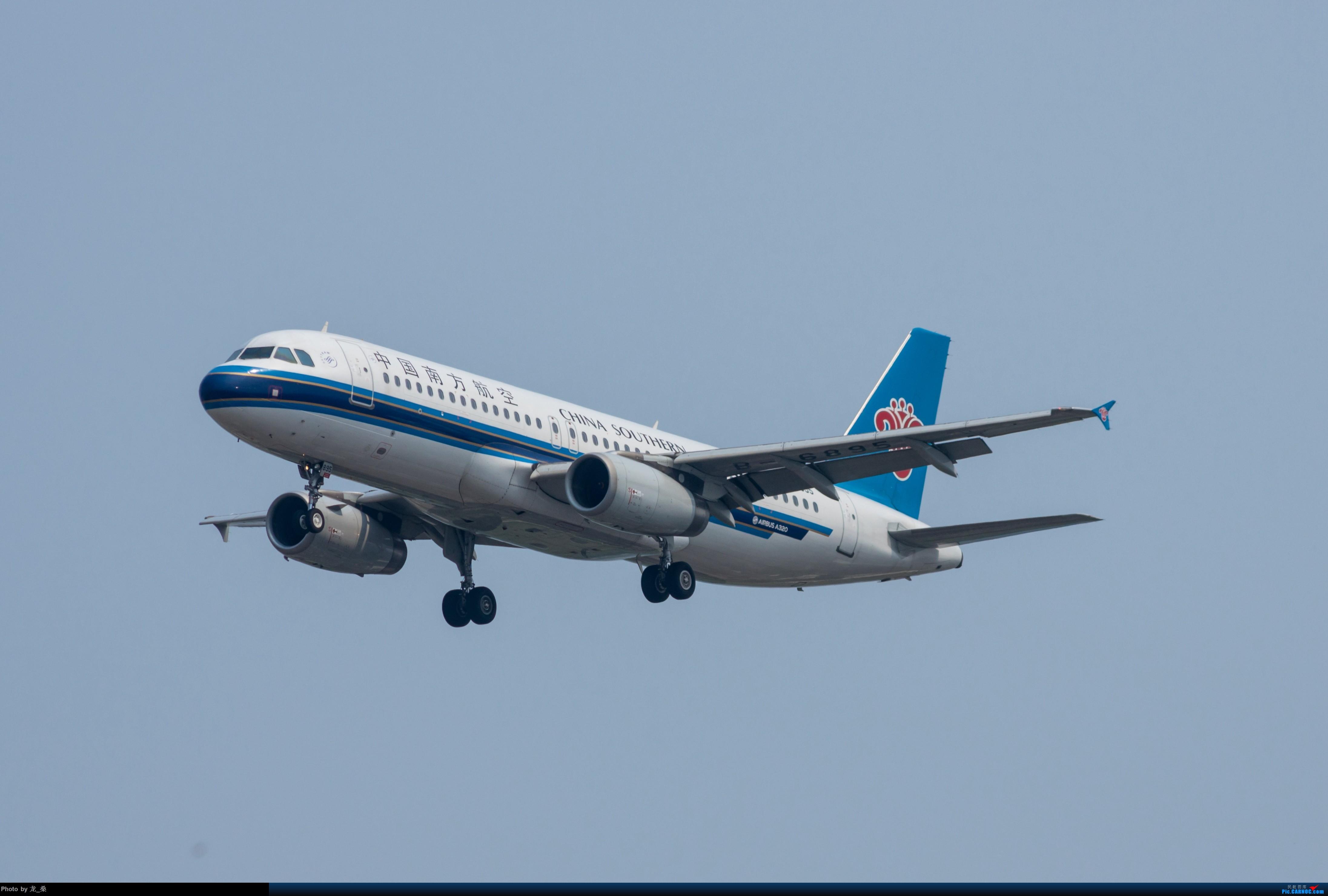 Re:[原创]发一组老图,去年拍的CAN东跑道进近 AIRBUS A320-200 B-6895 中国广州白云国际机场