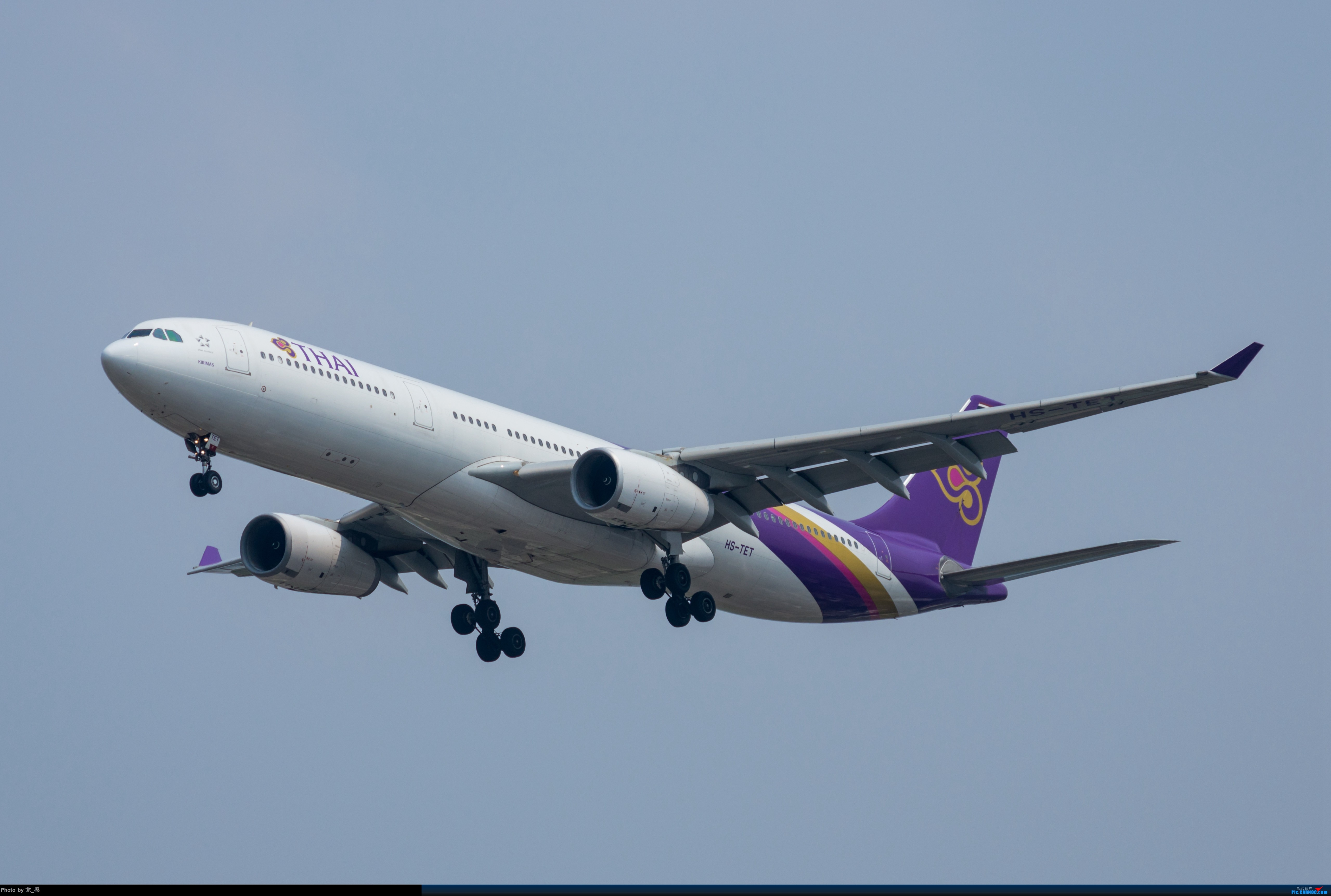 Re:[原创]发一组老图,去年拍的CAN东跑道进近 AIRBUS A330-300 HS-TET 中国广州白云国际机场