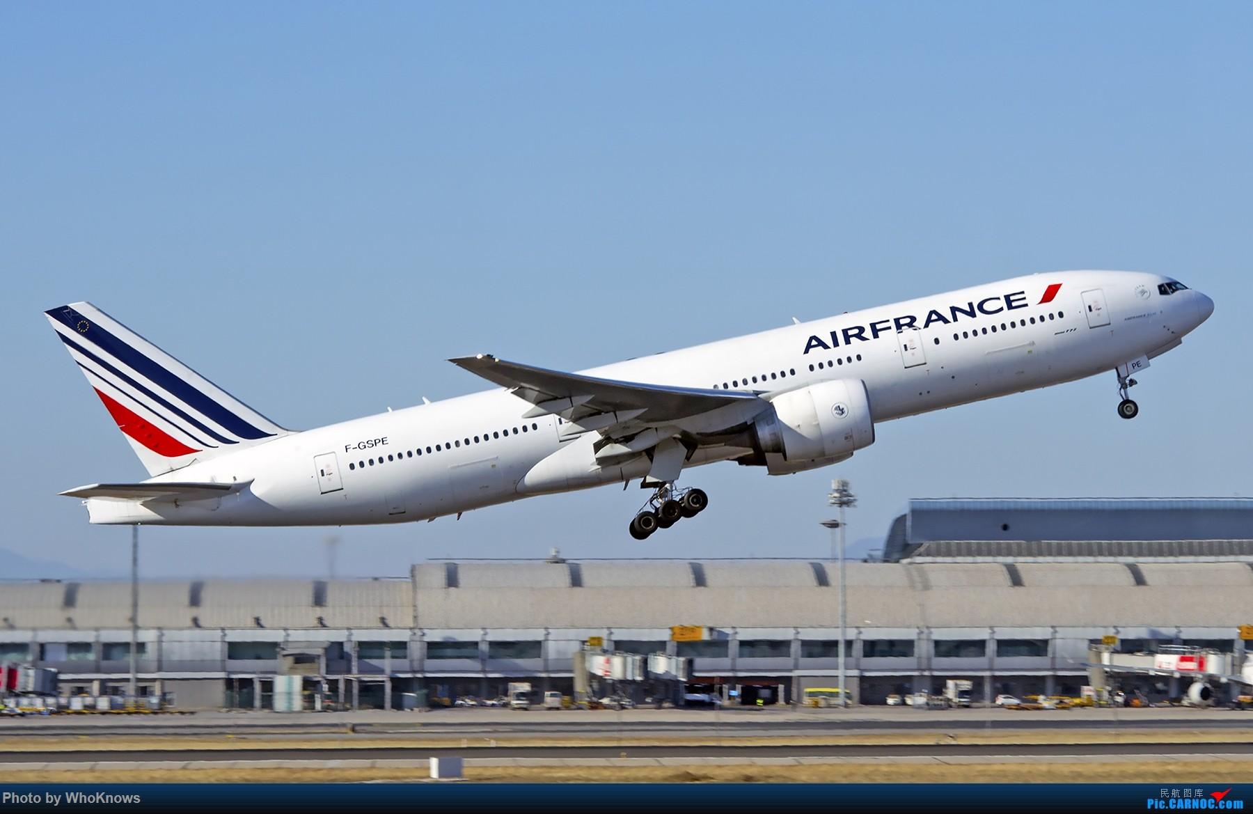 Re:[原创]北京的蓝天 BOEING 777-200 F-GSPE 中国北京首都国际机场
