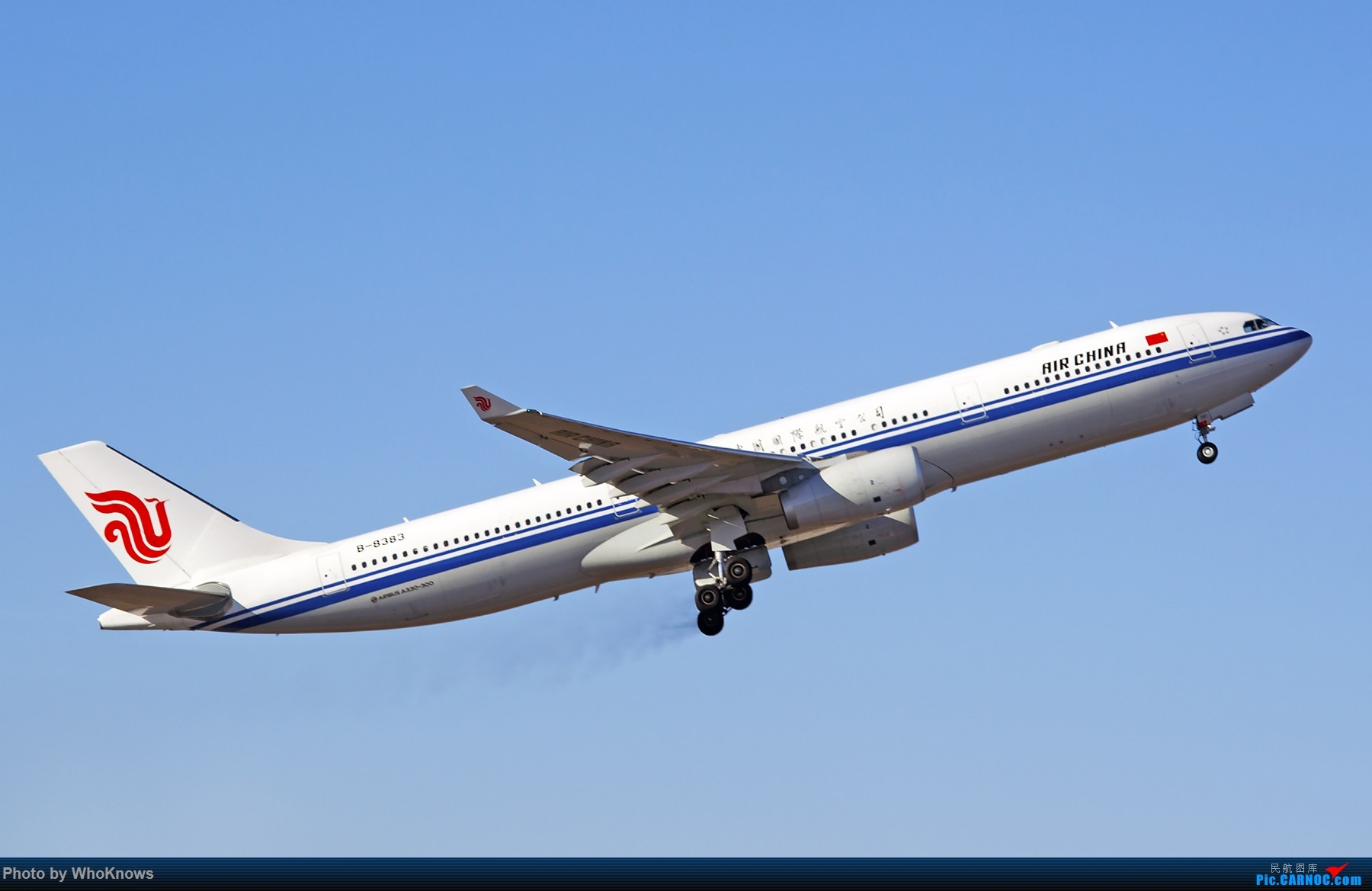 Re:[原创]北京的蓝天 AIRBUS A330-300 B-8383 中国北京首都国际机场