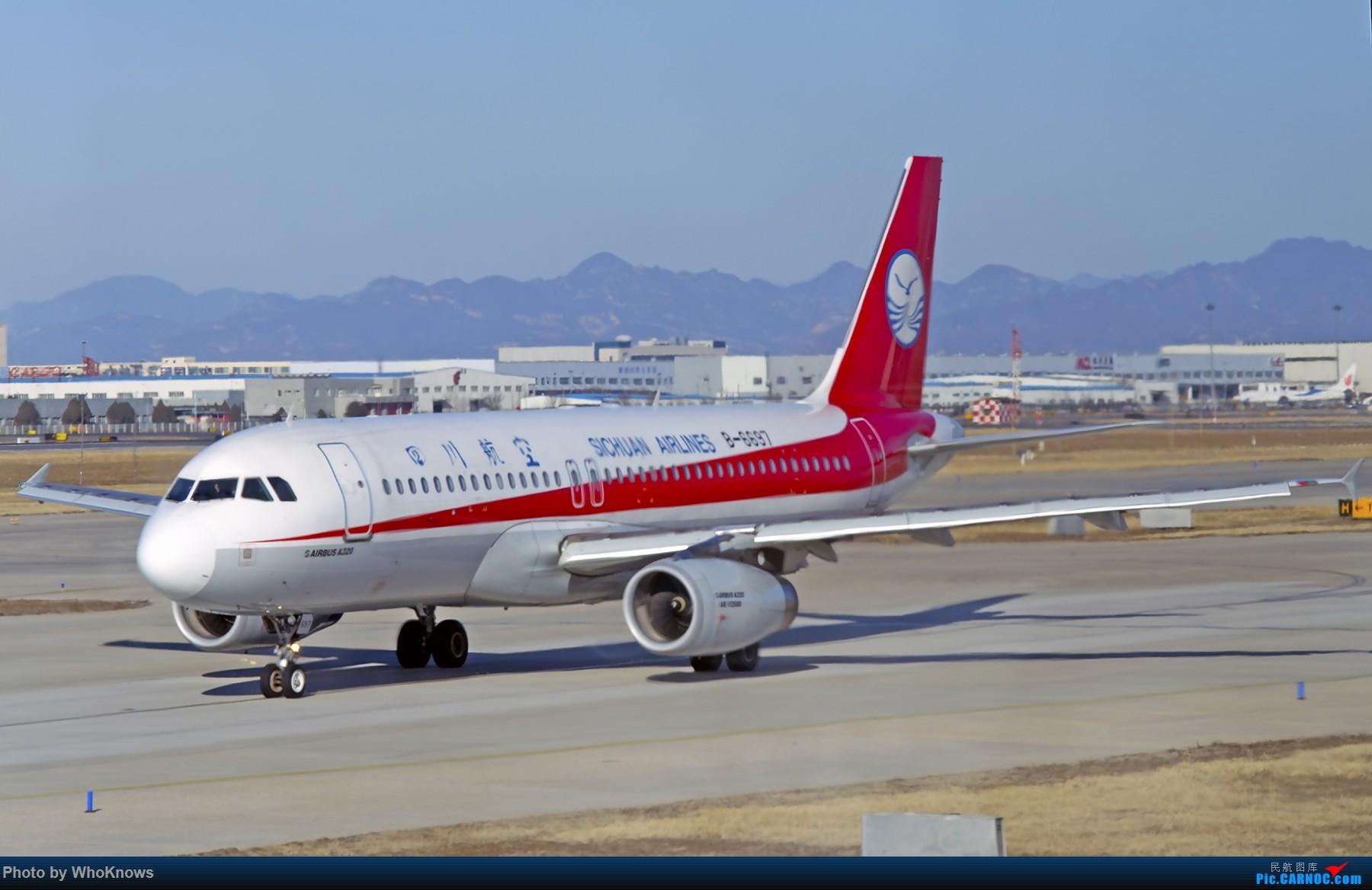 Re:[原创]北京的蓝天 AIRBUS A320-200 B-6697 中国北京首都国际机场