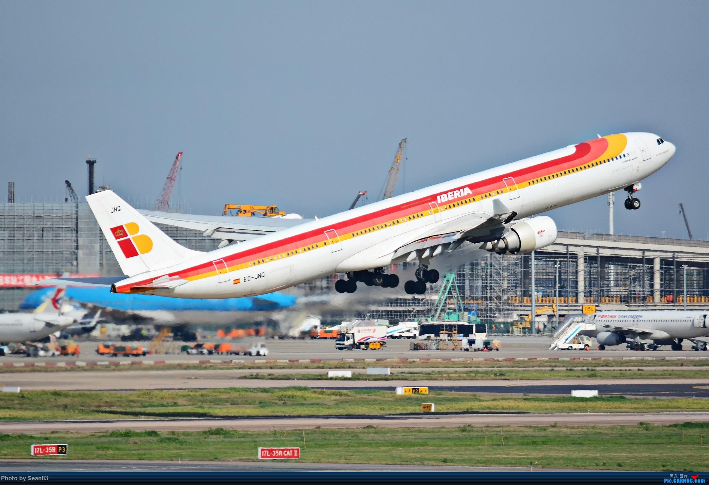 Re:[原创](PVG)踮脚的美 AIRBUS A340-600 EC-JNQ 上海浦东国际机场