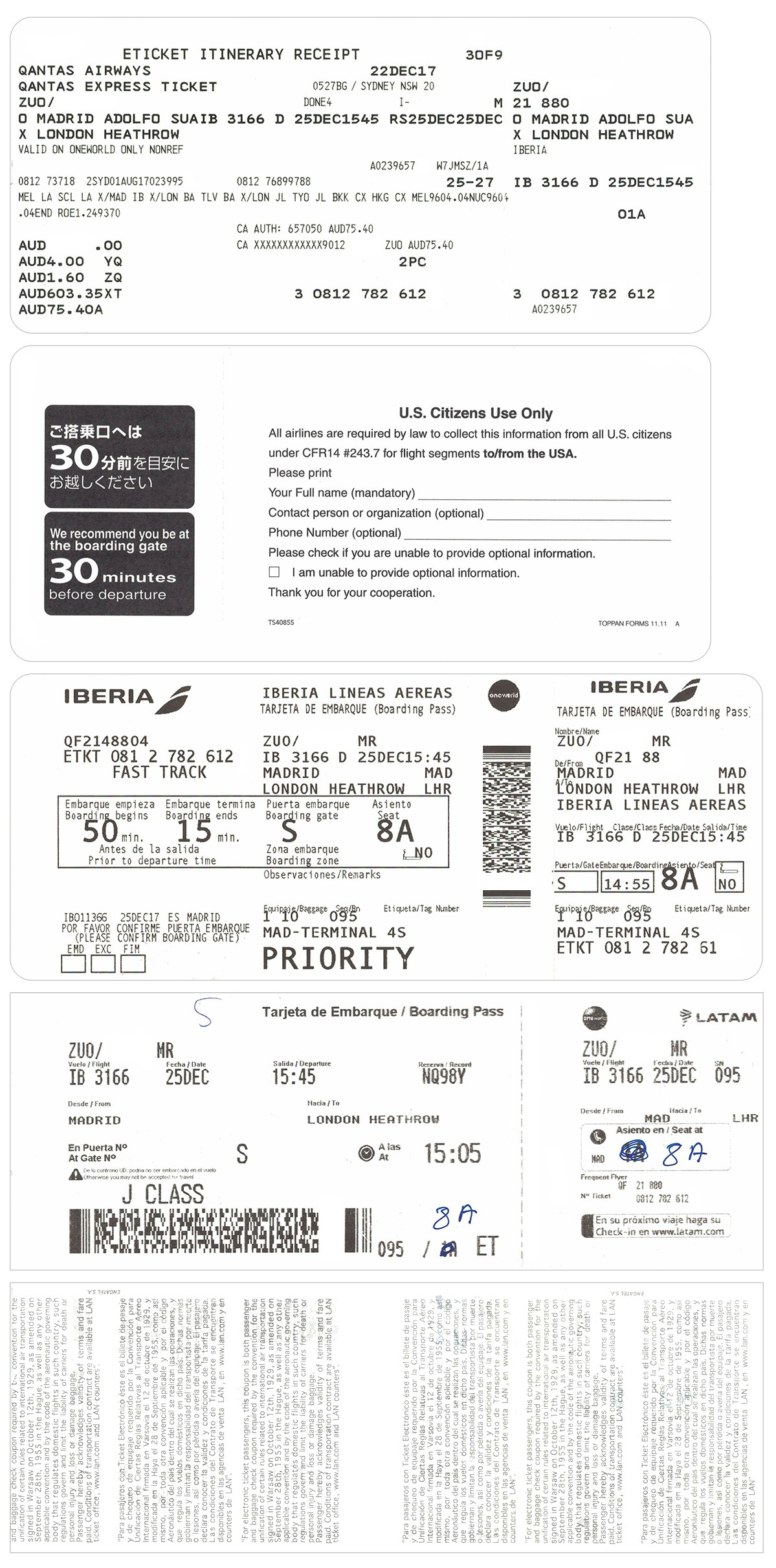 Re: [原创]【 寰球十万八千里   上集   取道南美 】 AIRBUS A340-600 EC-JCY 空中