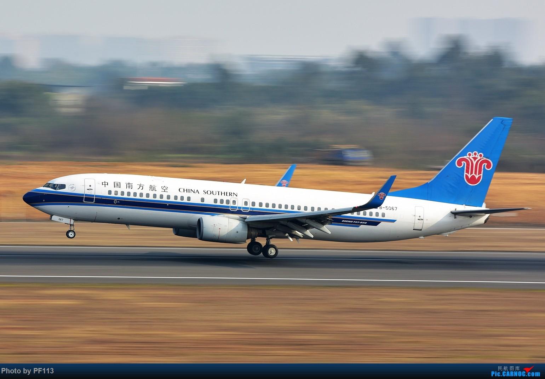 [原创]CTU二跑道.着陆.3 BOEING 737-800 B-5067 中国成都双流国际机场