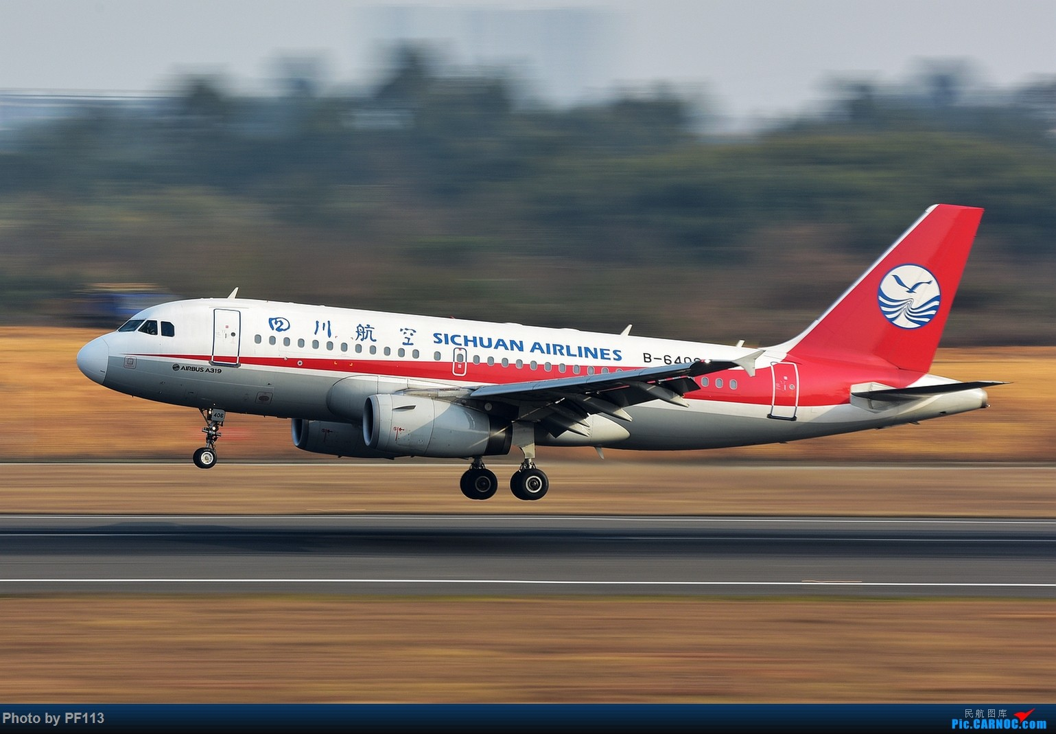 Re:[原创]CTU二跑道.着陆.3 AIRBUS A319-100 B-6406 中国成都双流国际机场