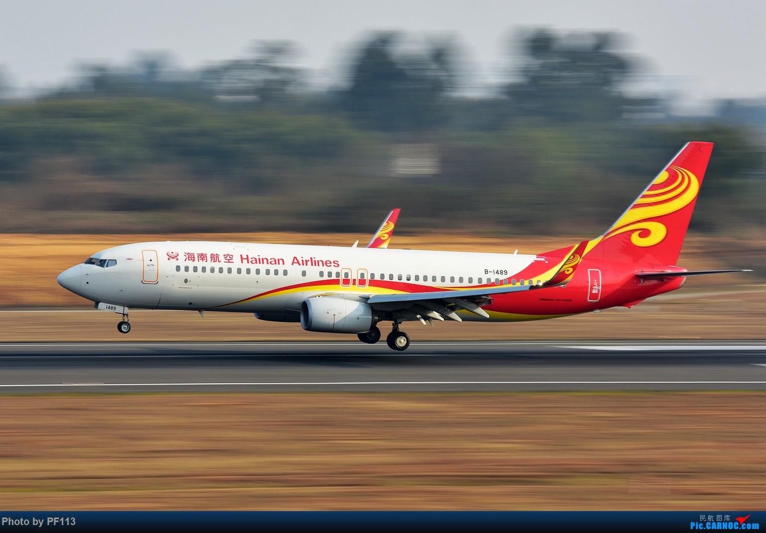Re:[原创]CTU二跑道.着陆.3 BOEING 737-800 B-1489 中国成都双流国际机场