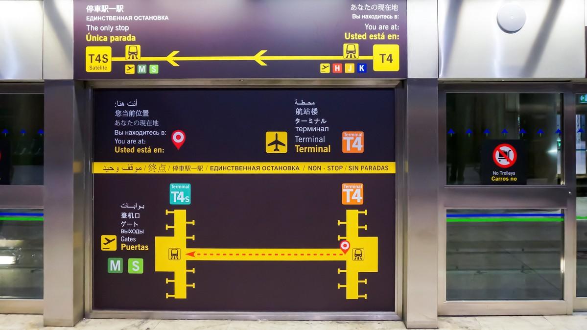 Re:【 寰球十万八千里   上集   取道南美 】    西班牙马德里机场