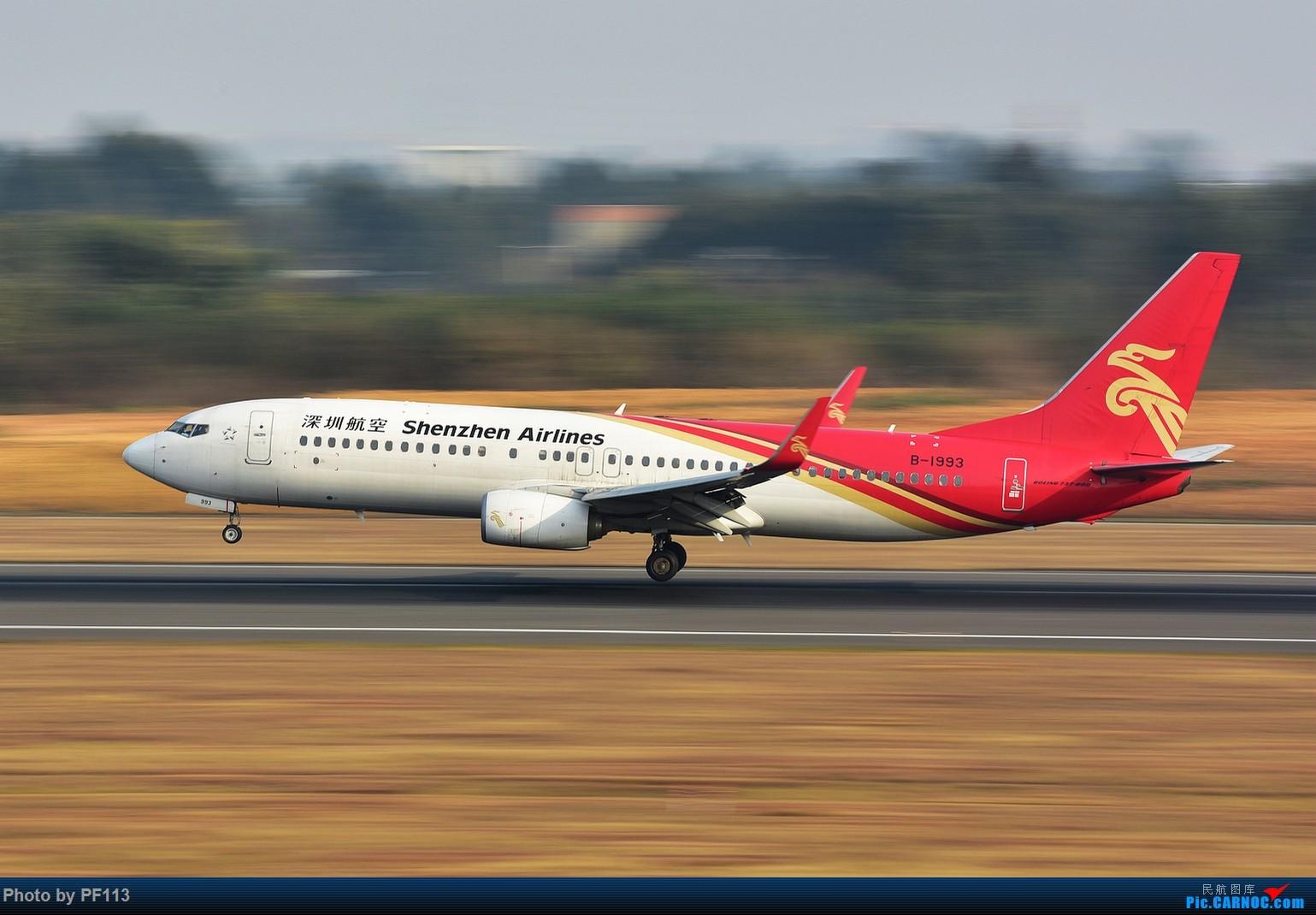 Re:[原创]CTU二跑道.着陆.3 BOEING 737-800 B-1993 中国成都双流国际机场