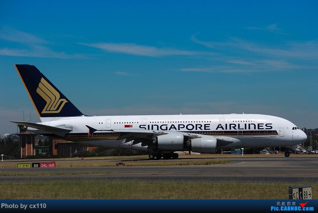 Re:[原创]悉尼机场中场拍机(微单不够用了~~~o(╥﹏╥)o) AIRBUS A380-800 9V-SKN